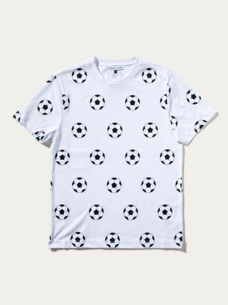 All Over Football T-Shirt