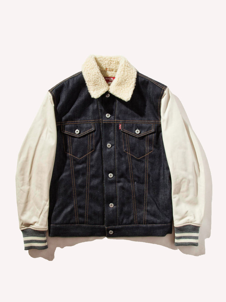 Shearling Levis Denim Jacket