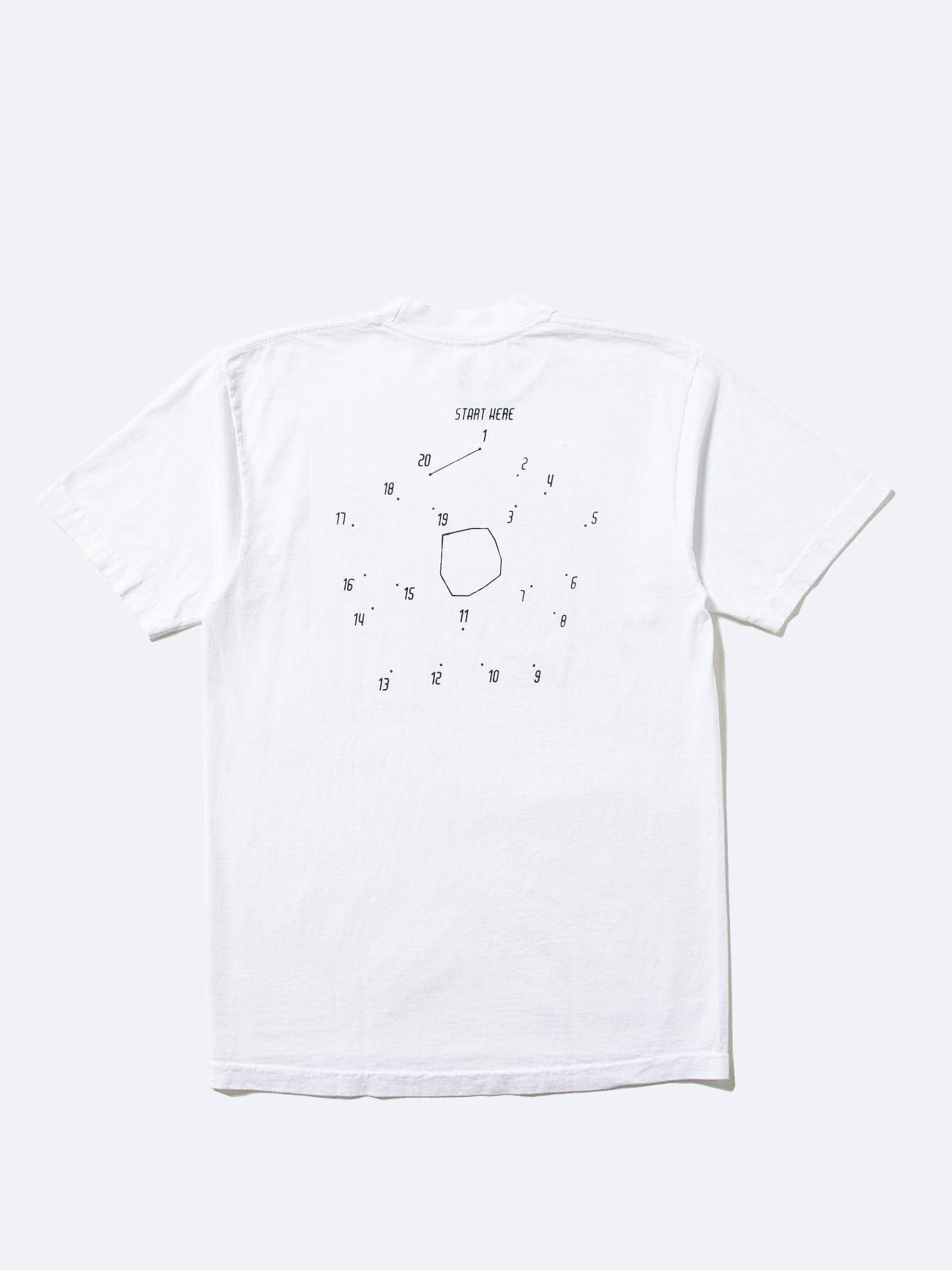 White Start Here T-Shirt 1