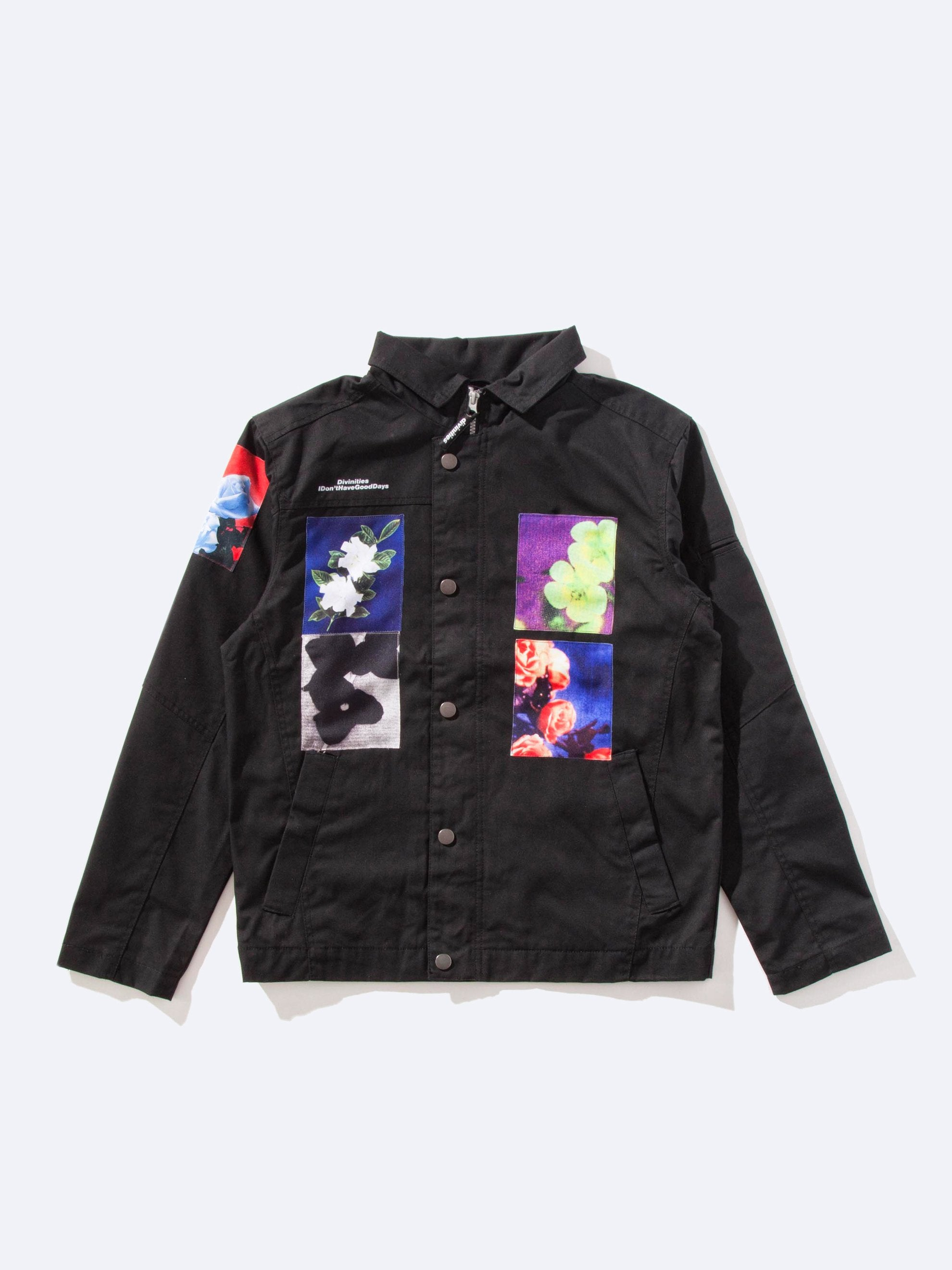 Black Divinities Work Jacket 1