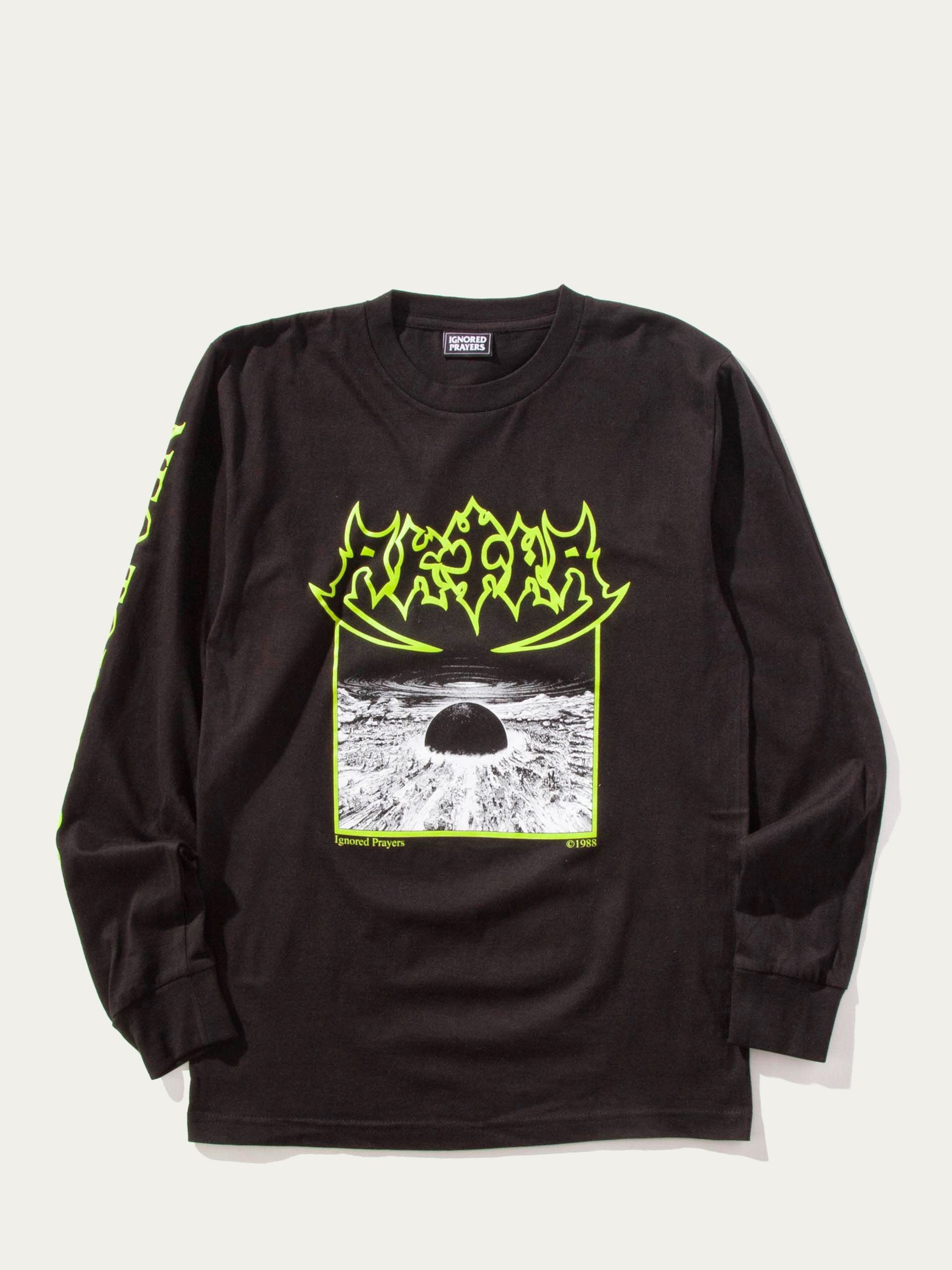 Black Sepulkira Long Sleeve T-Shirt 1