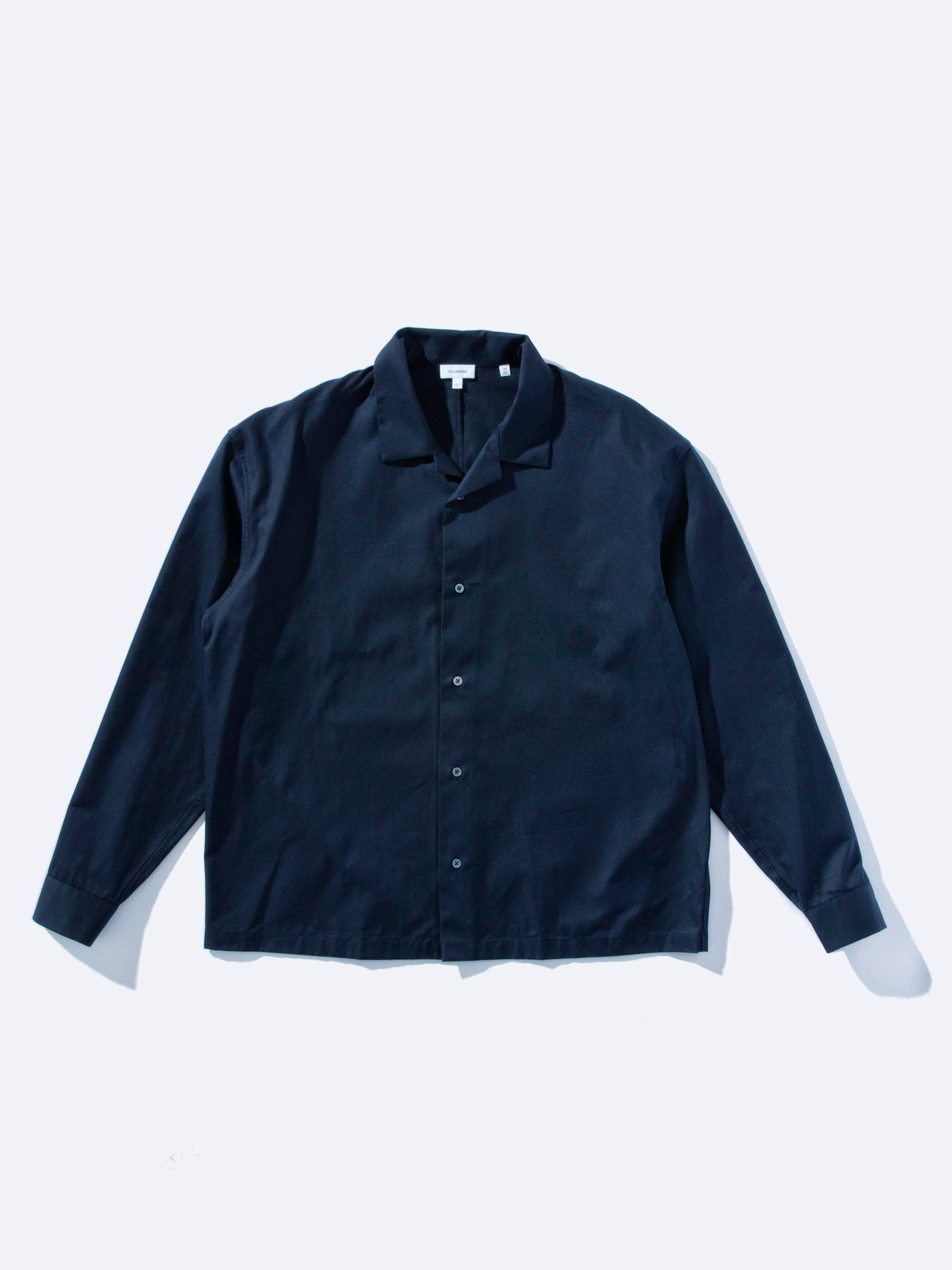 Navy Jersey Knit Shirt 1
