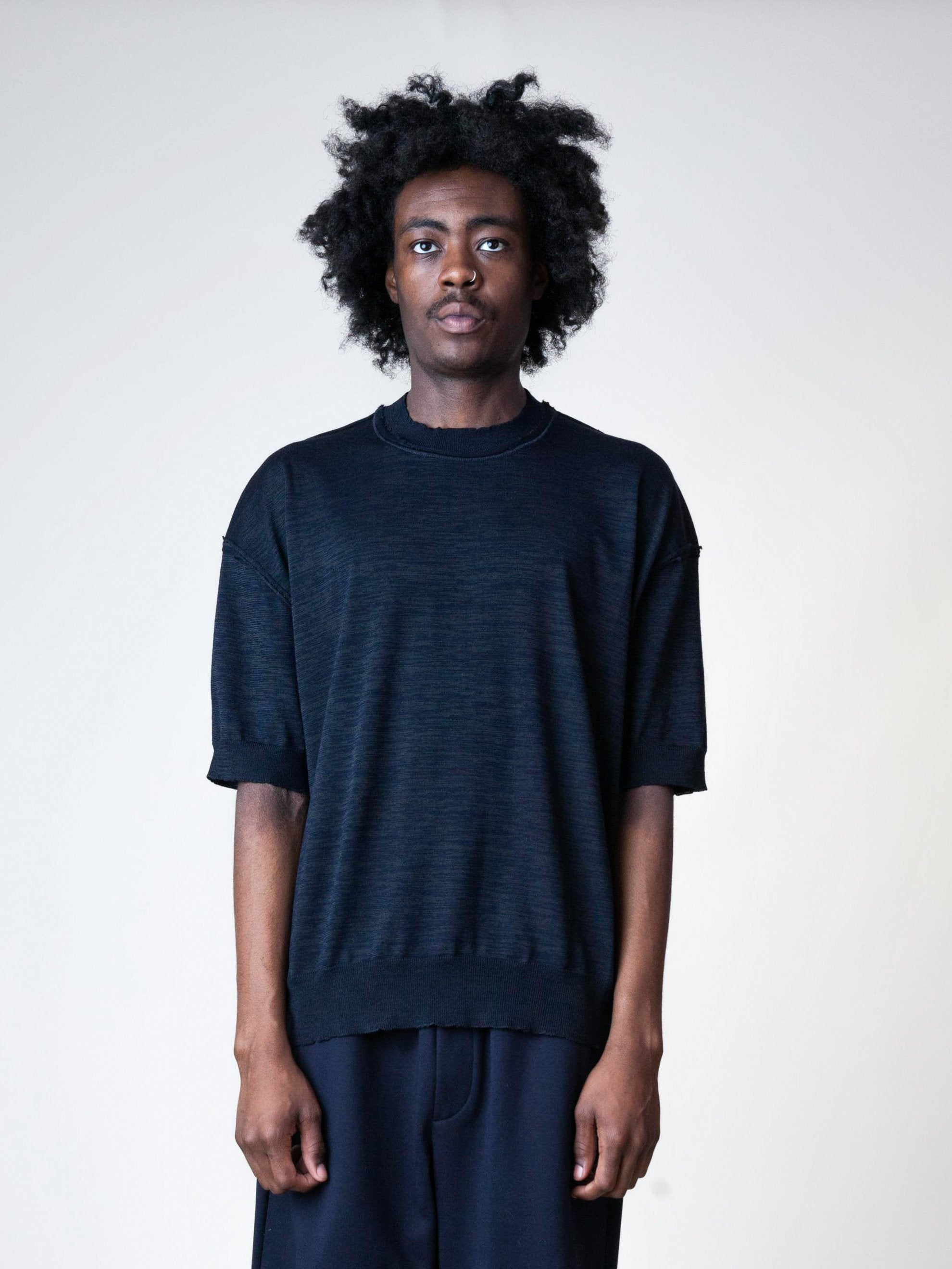 Wool S/S Sweater