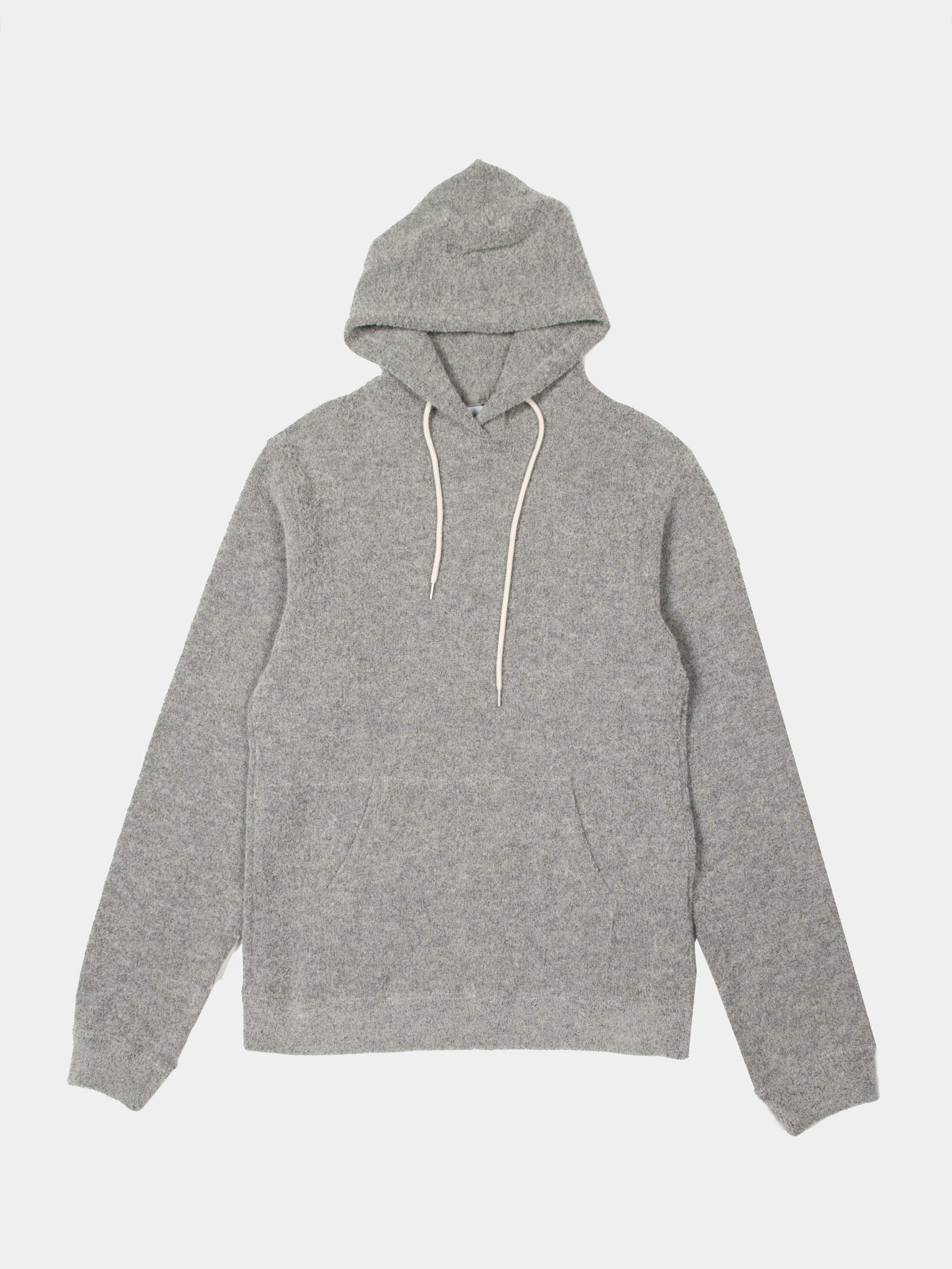Cement Boucle Beach Hoodie 1