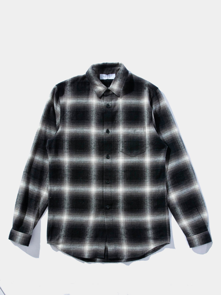 Brushed Flannel Button Up