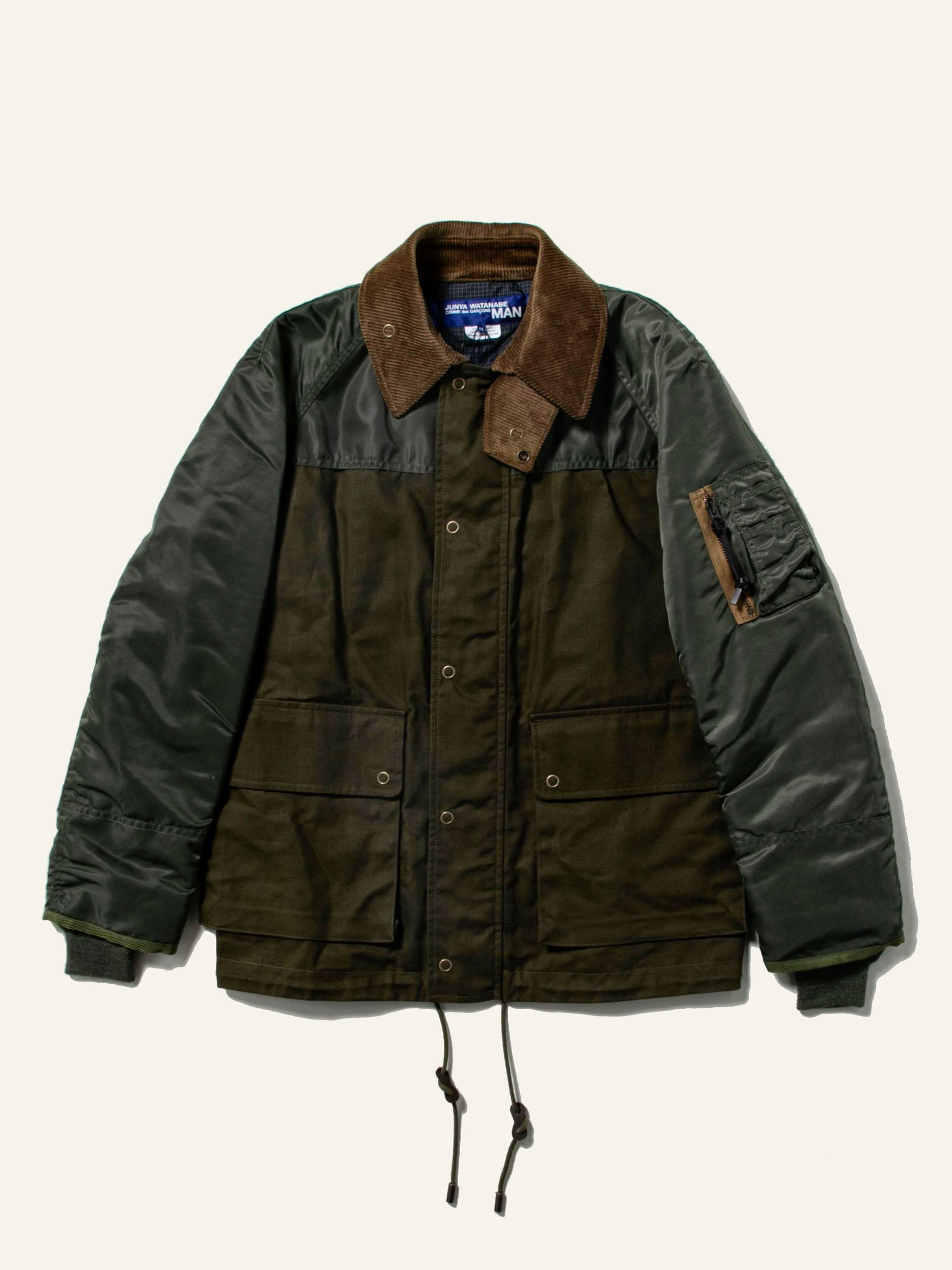 Brown / Olive Hybrid MA-1 Field Coat 1