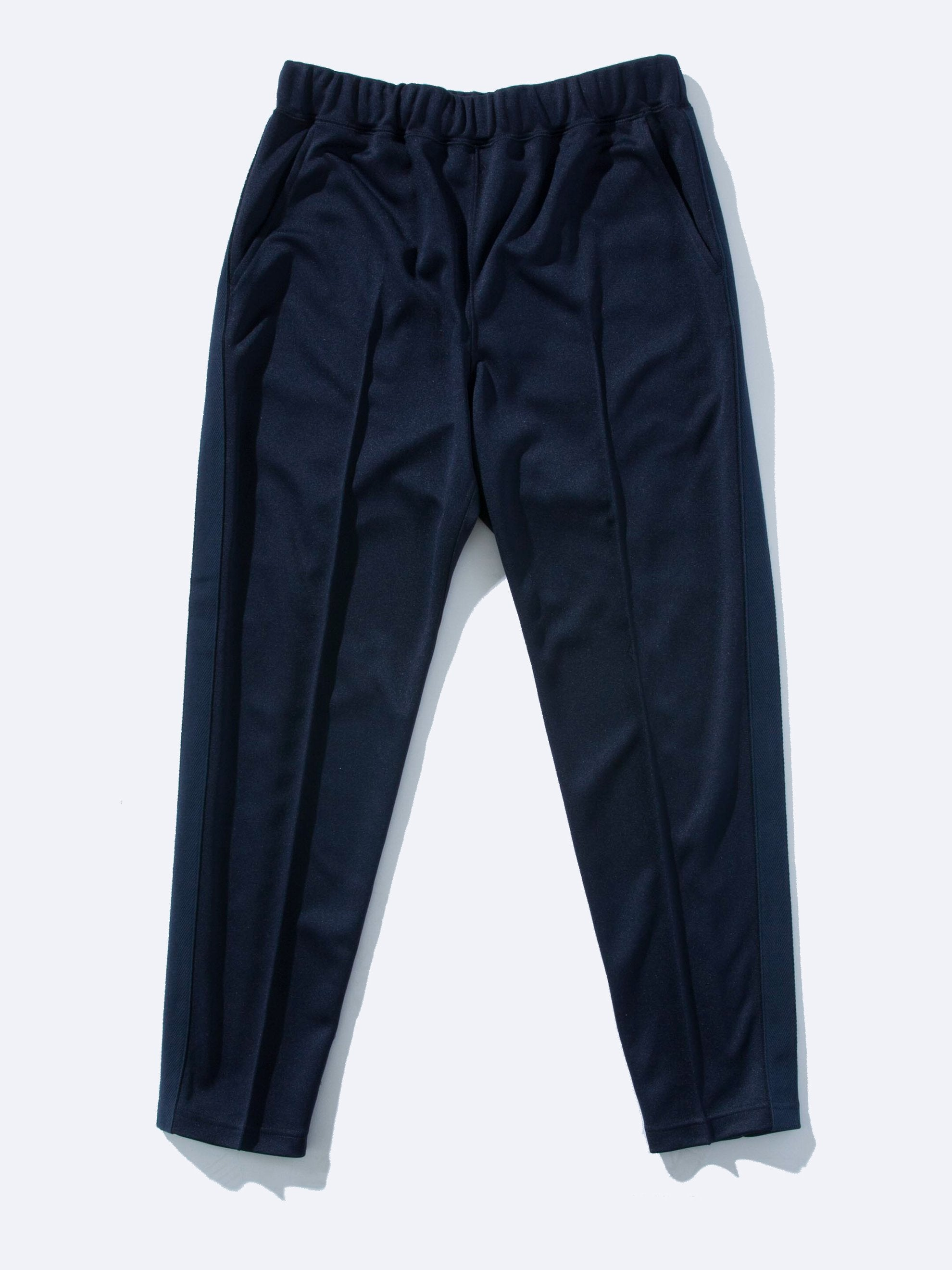 Navy Pleated Track Pant 1