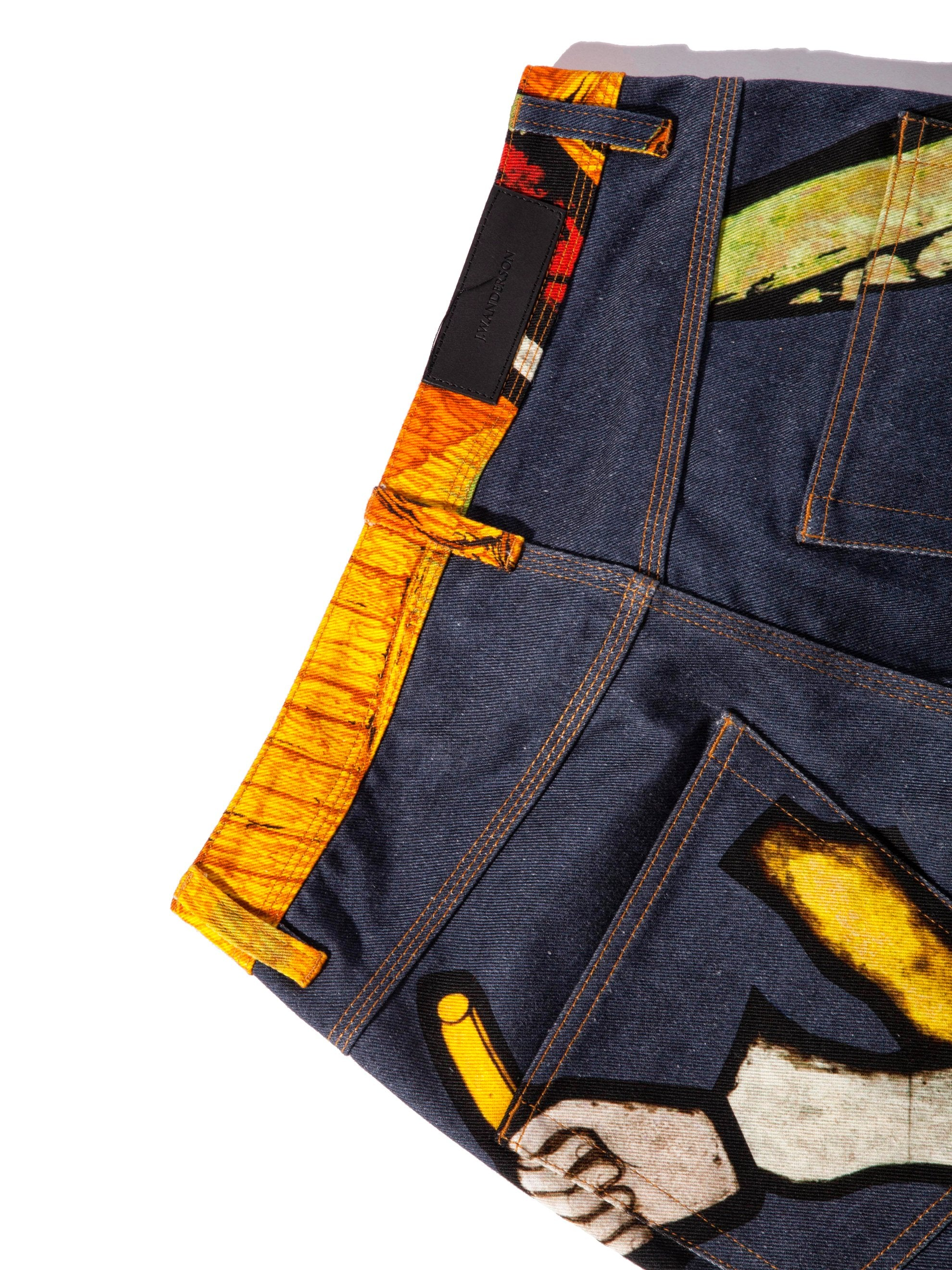 48 Tapestry Denim Trousers 8