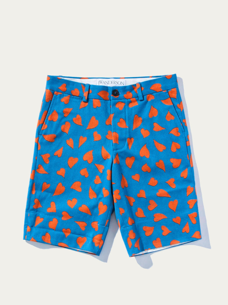 All Over Hearts Shorts