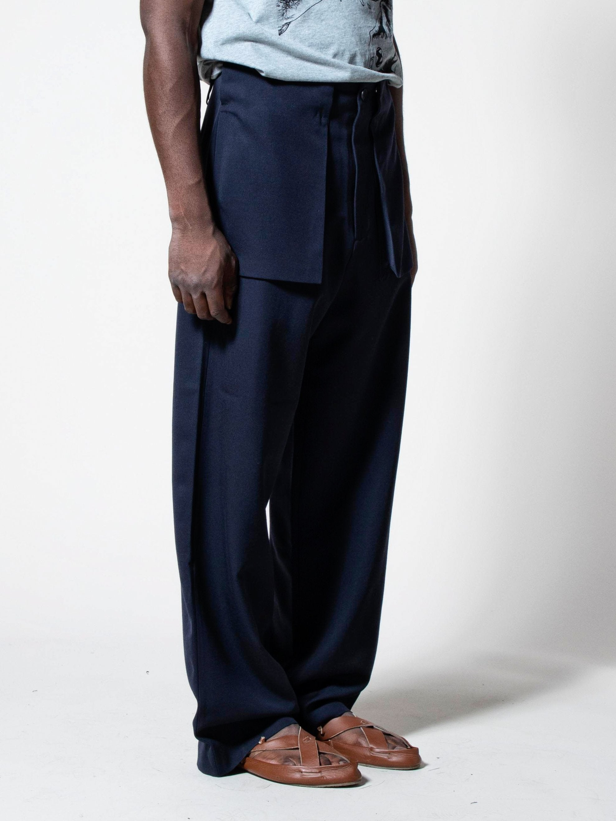 Large Pocket Trousers