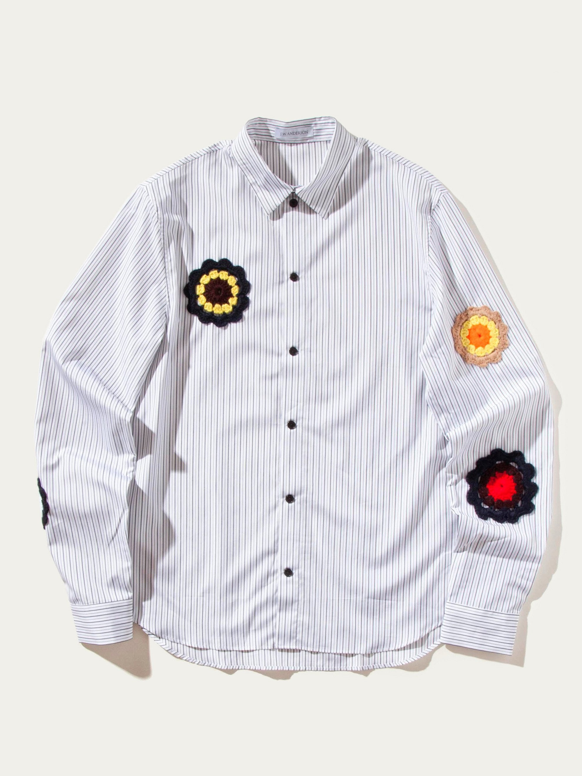 Boxy Shirt (Crotchet Patches)