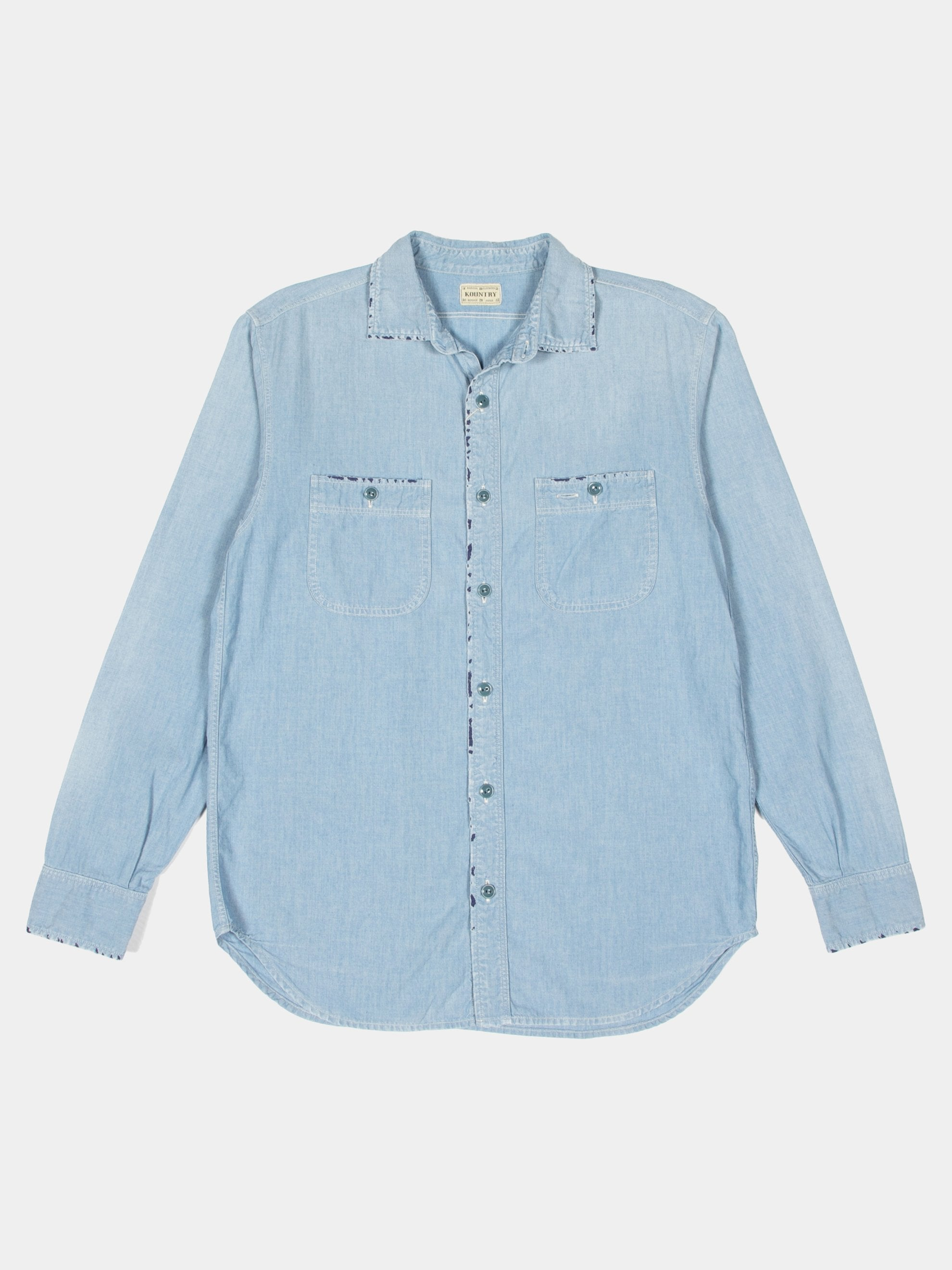 Chambray Kountry Work Shirt (Rain Bandana Remake)