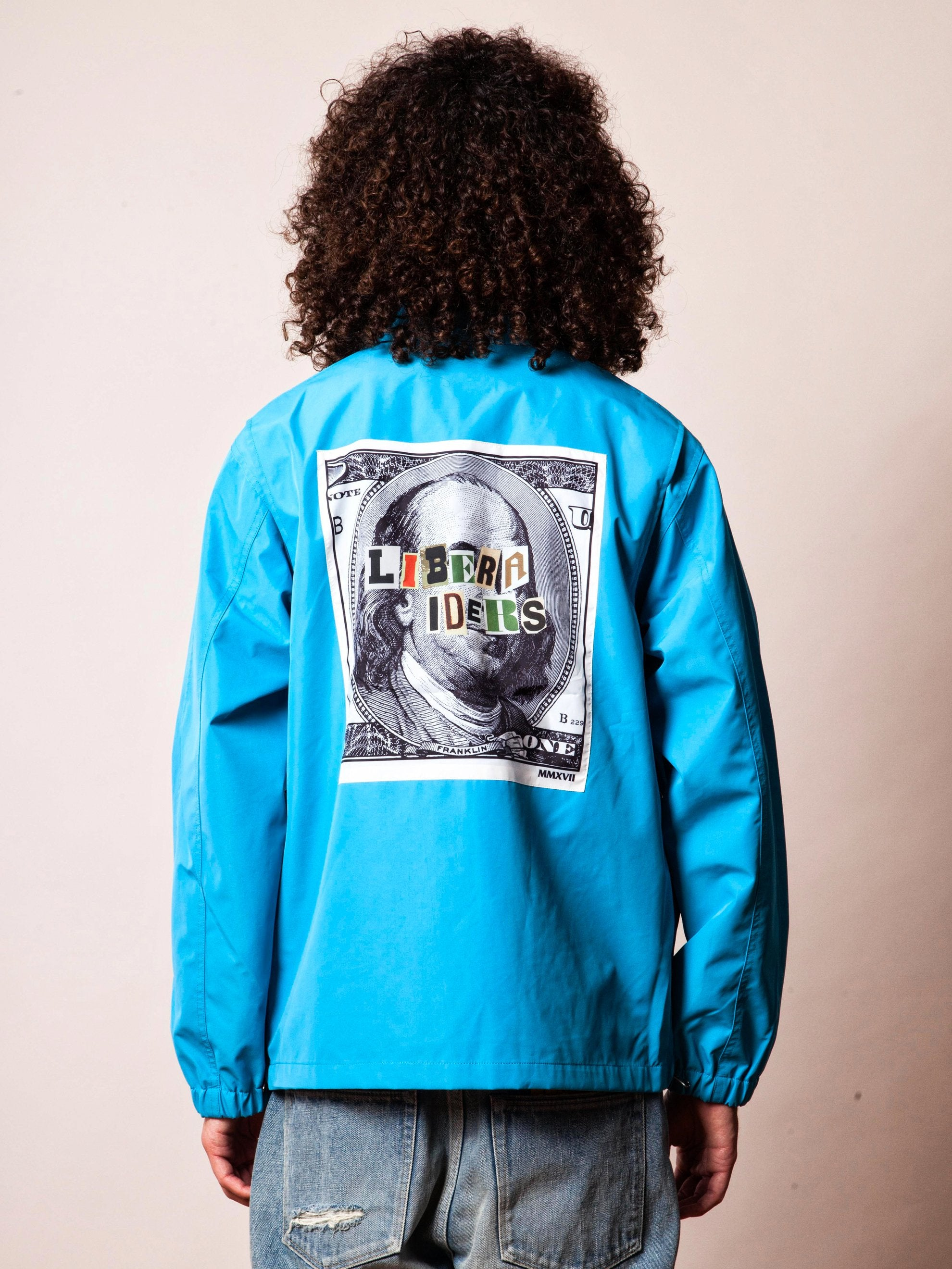 Blue 3Layer Coach Jacket 4