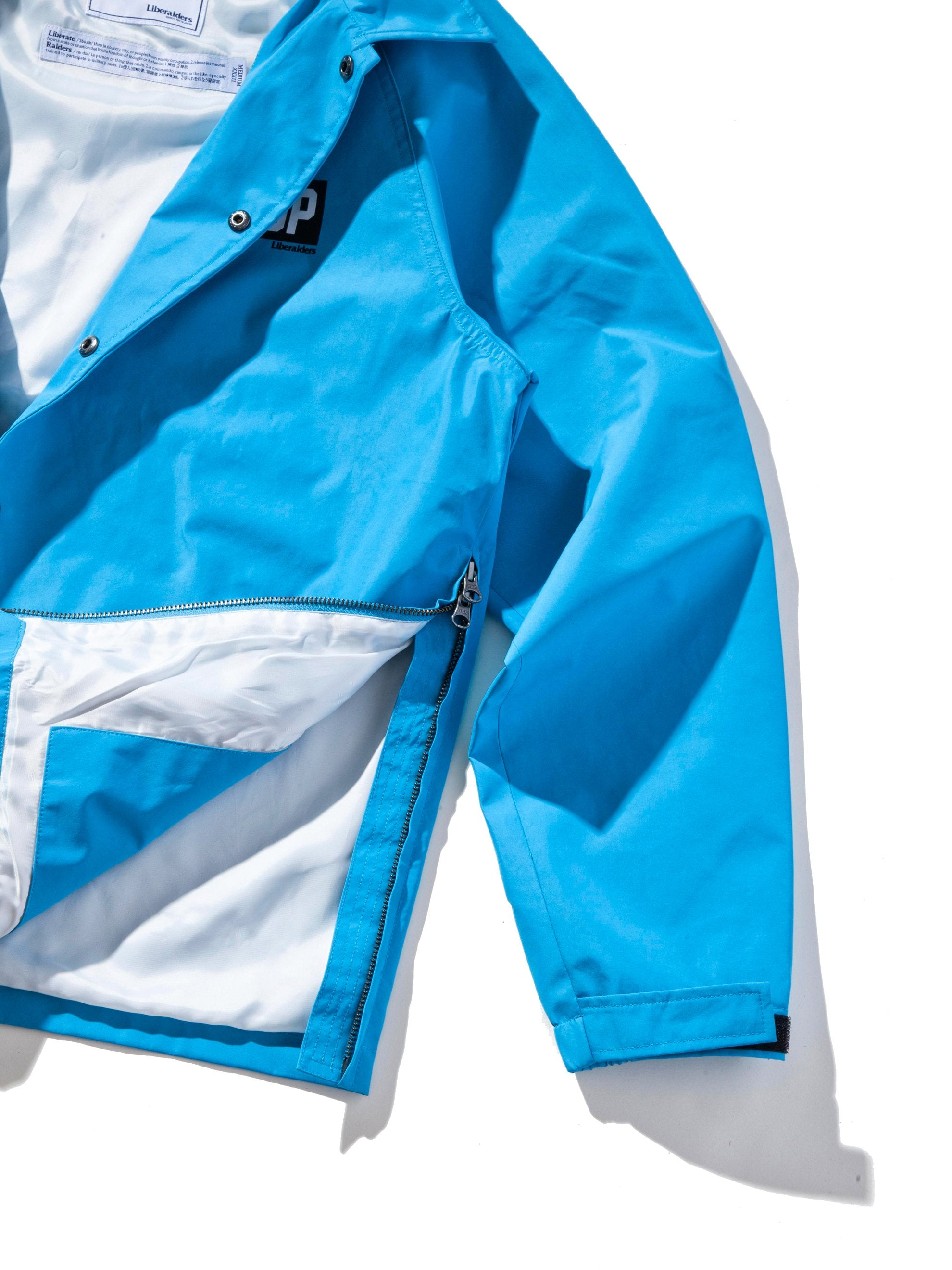 Blue 3Layer Coach Jacket 13
