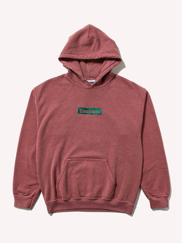 German Logo Overdyed Pullover Hoodie