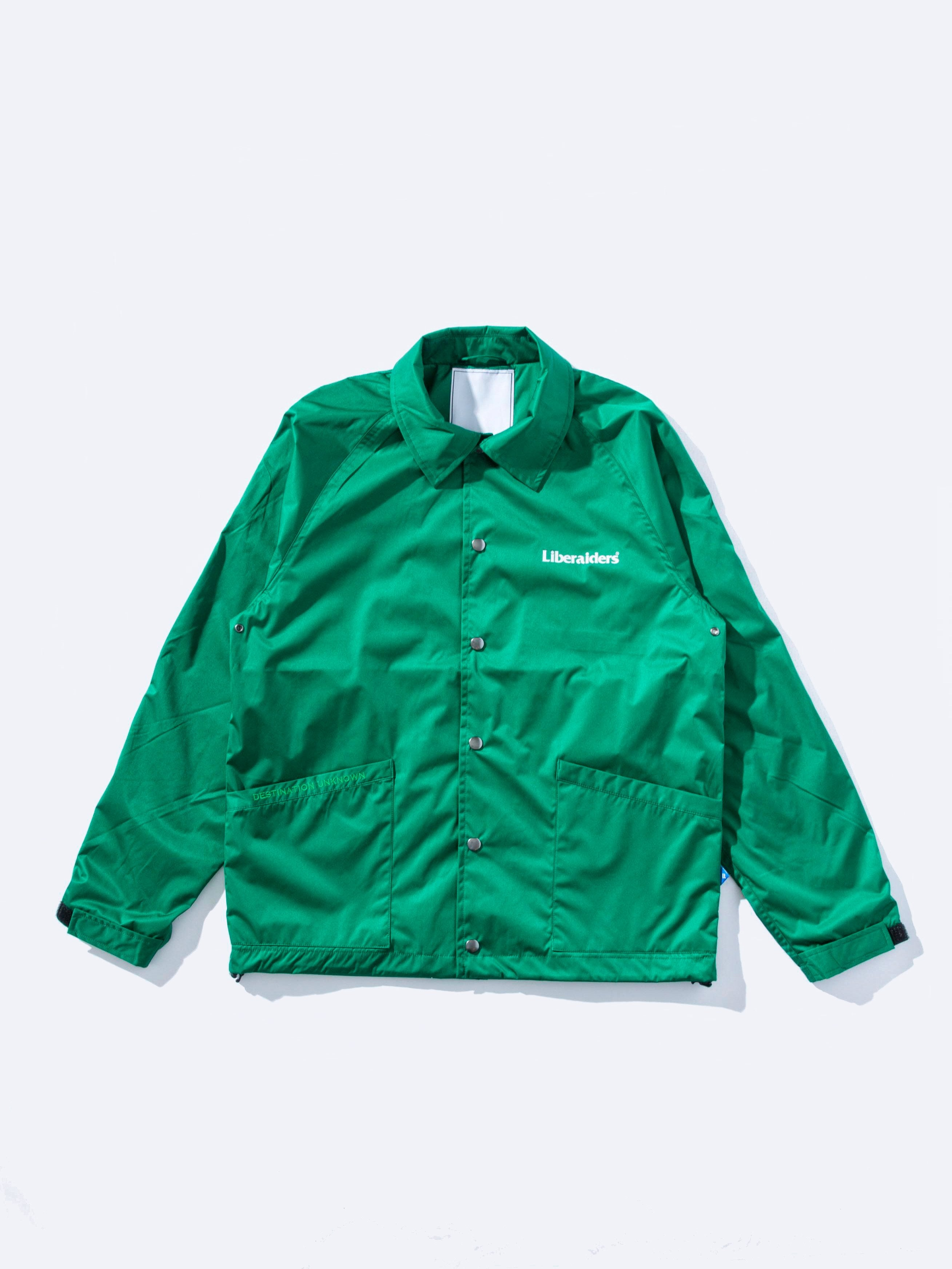 Green OG Logo Coach Jacket 1