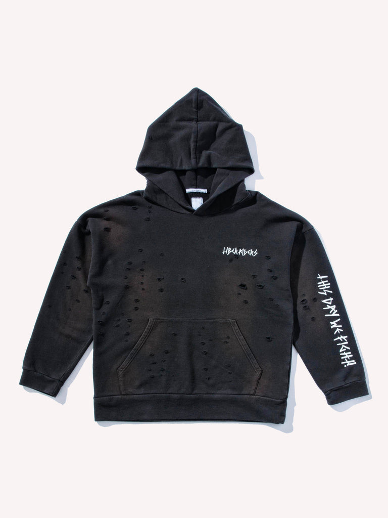 Damaged Pullover Hoodie
