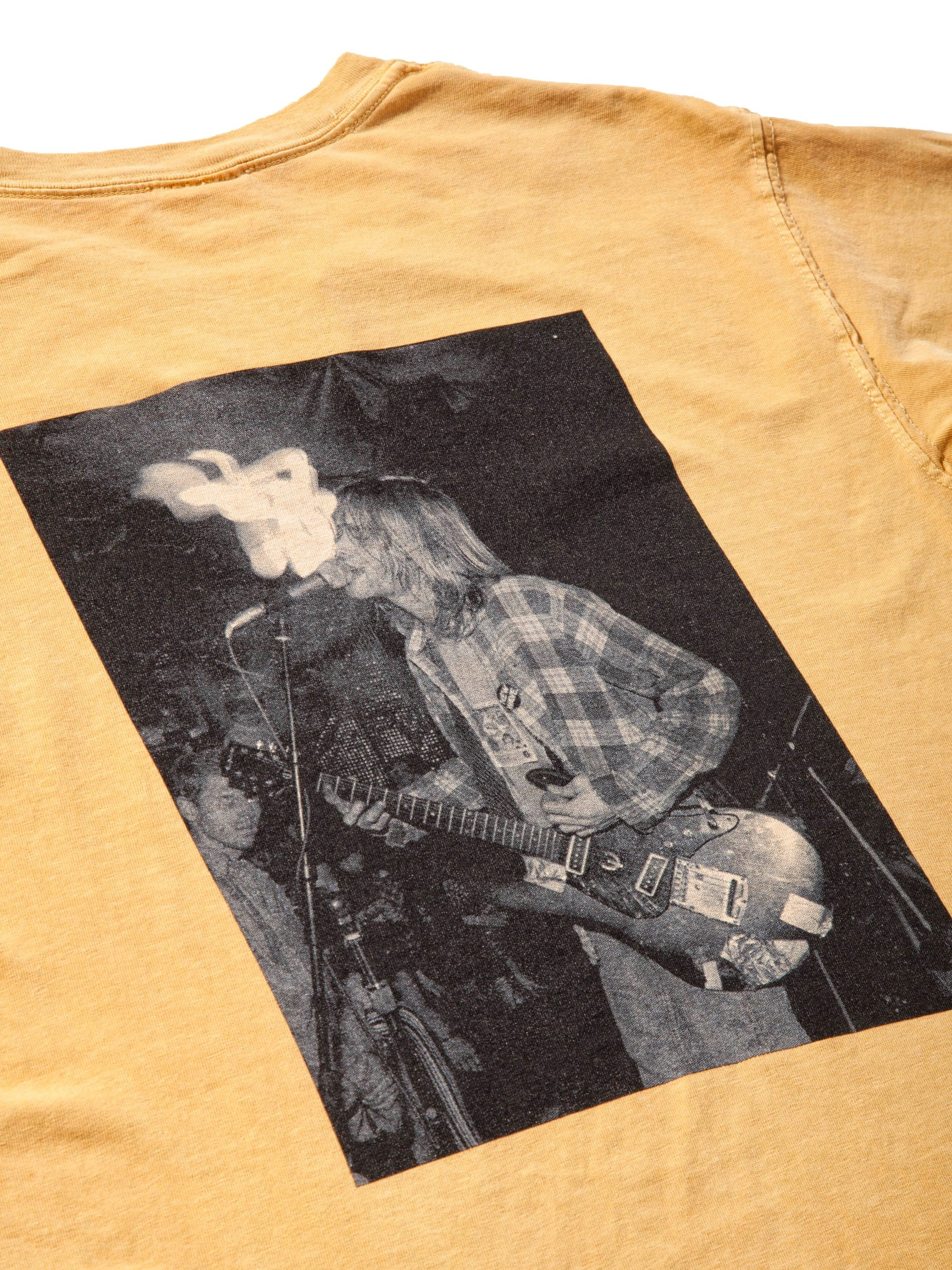 Mustard New Wave T-Shirt 6