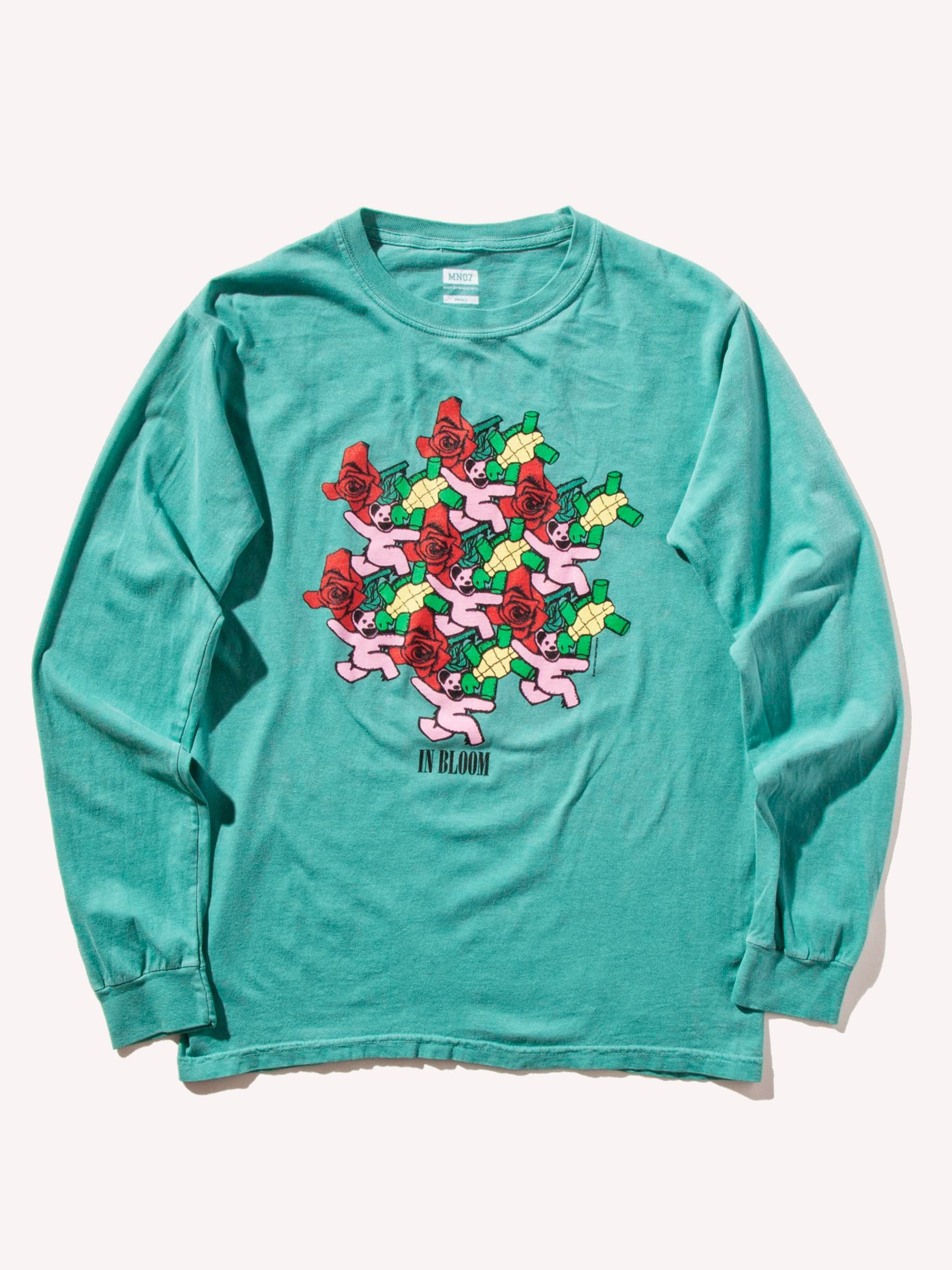 White In Bloom Long Sleeve T-Shirt 1