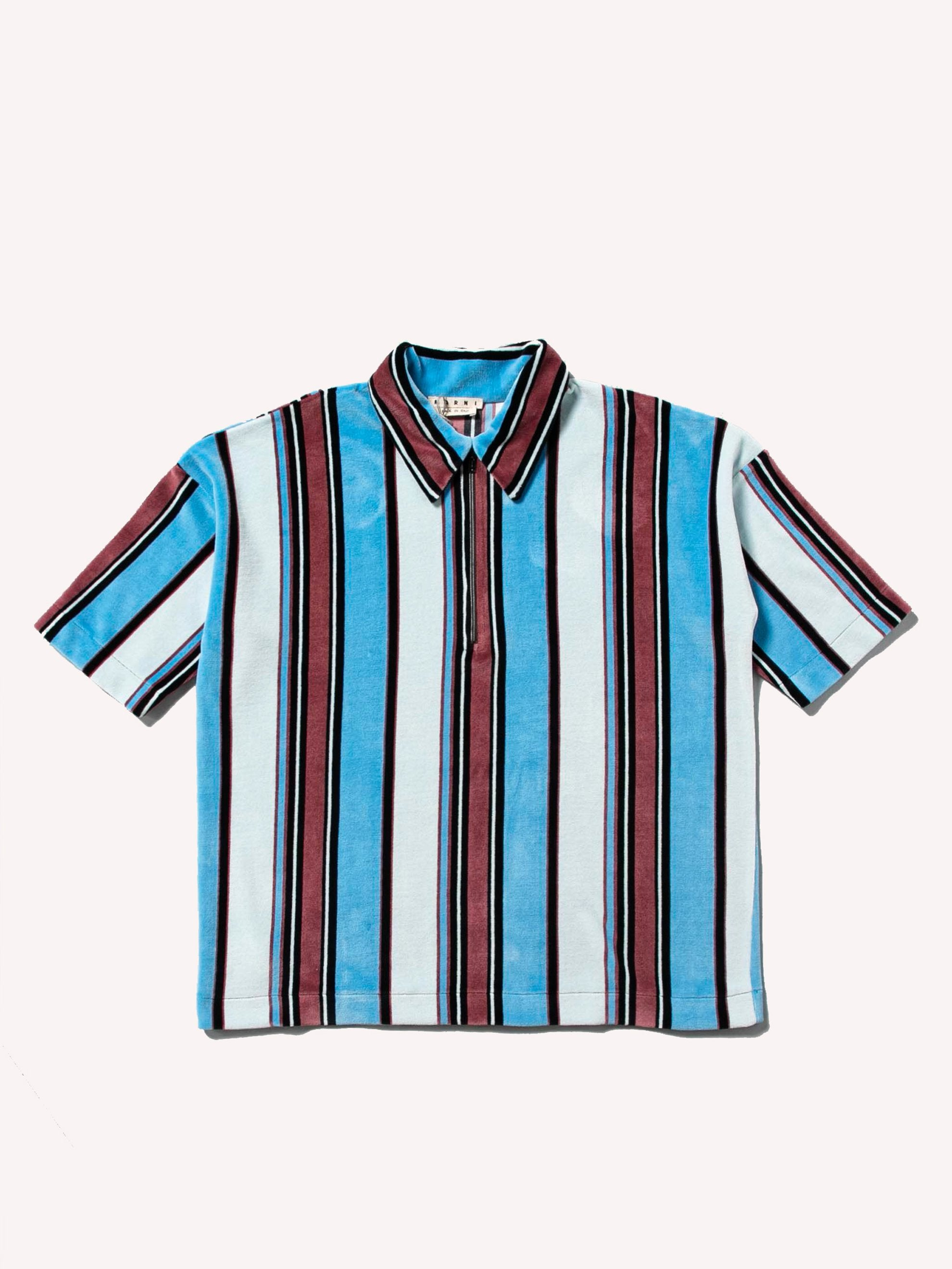 Multicolor Polo Neck Shirt 1