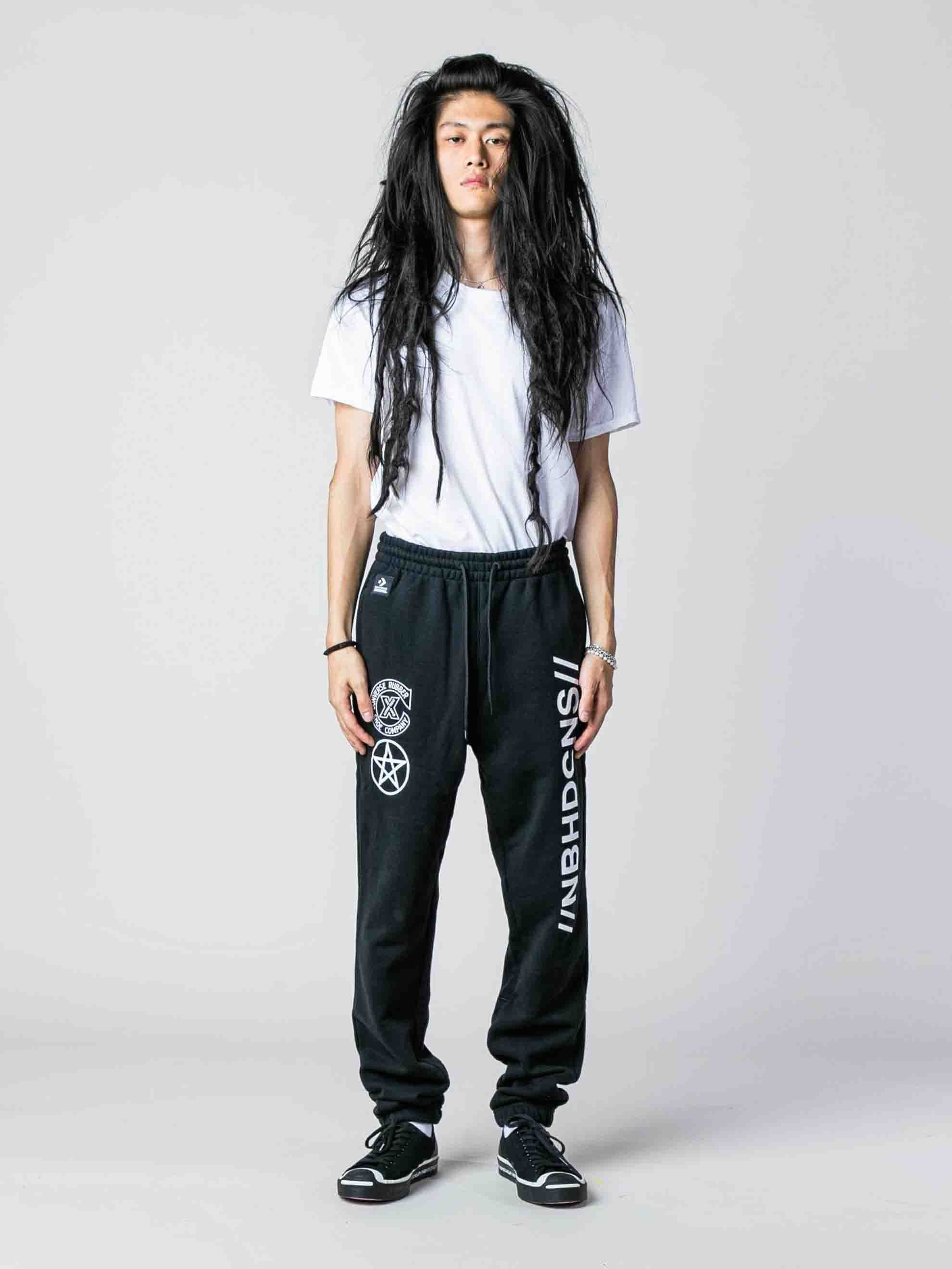 Black Converse x Neighborhood Sweatpant 4