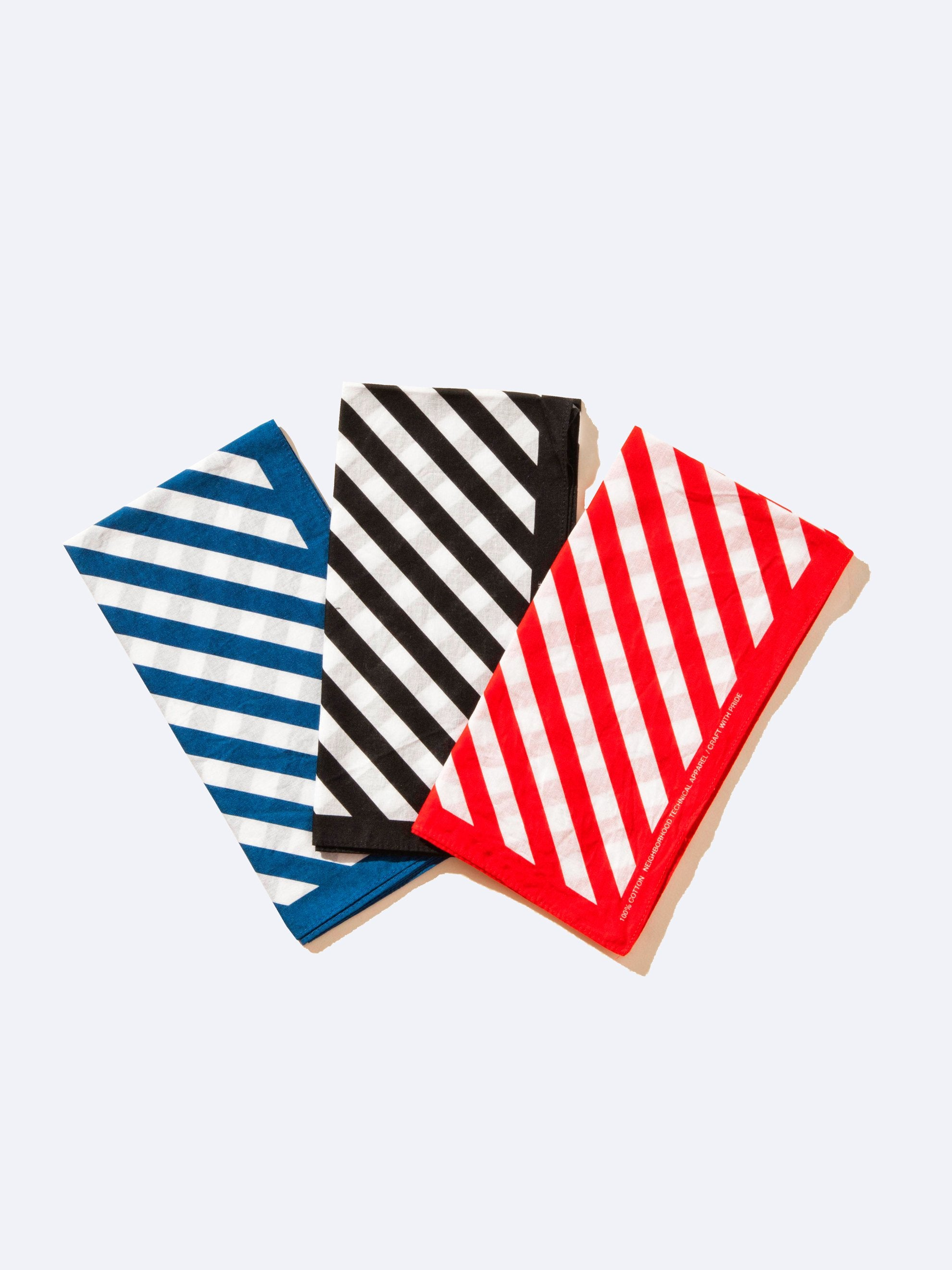 Black Stripe Bandana 1