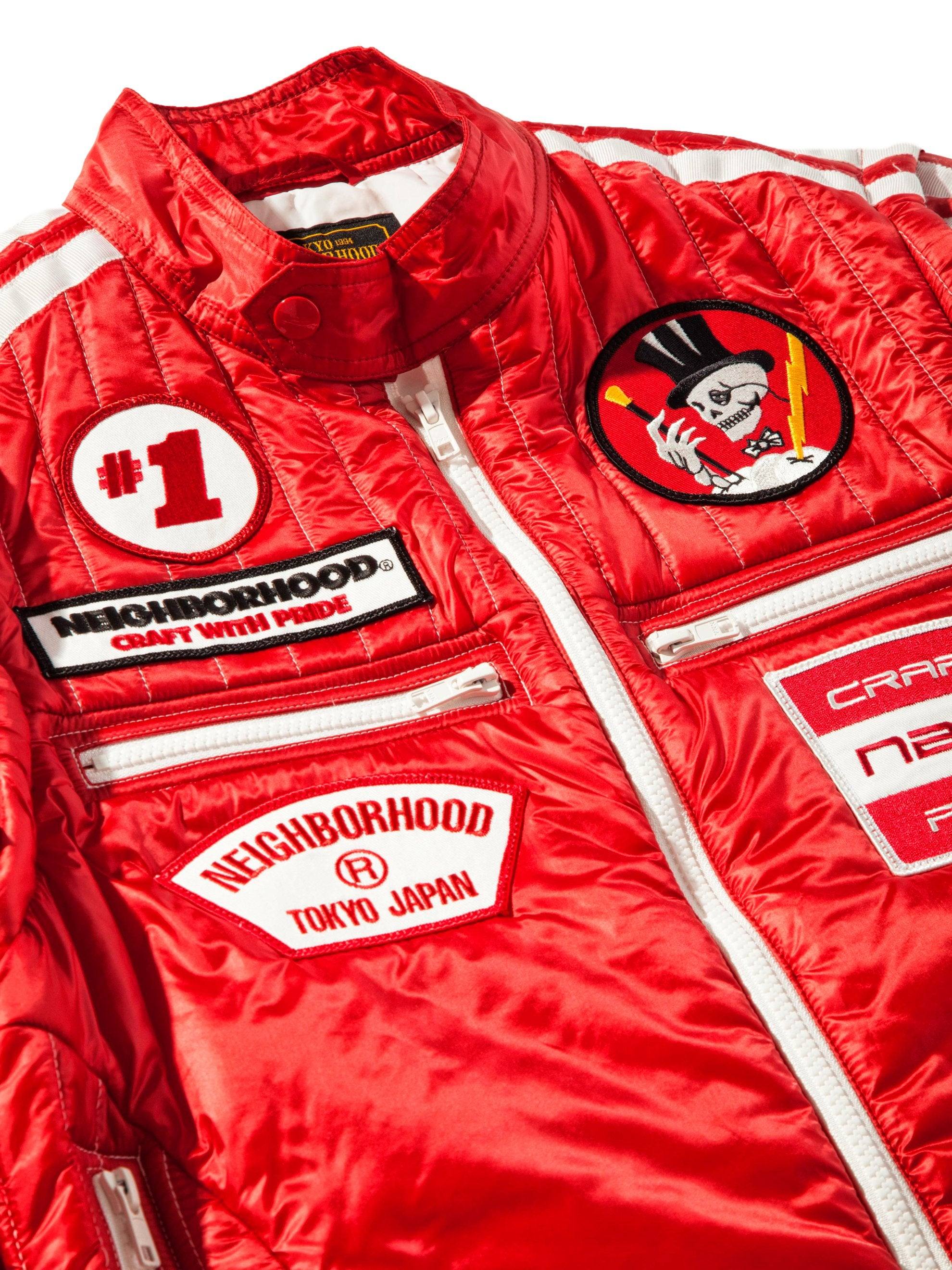 Red Racing Jacket 8