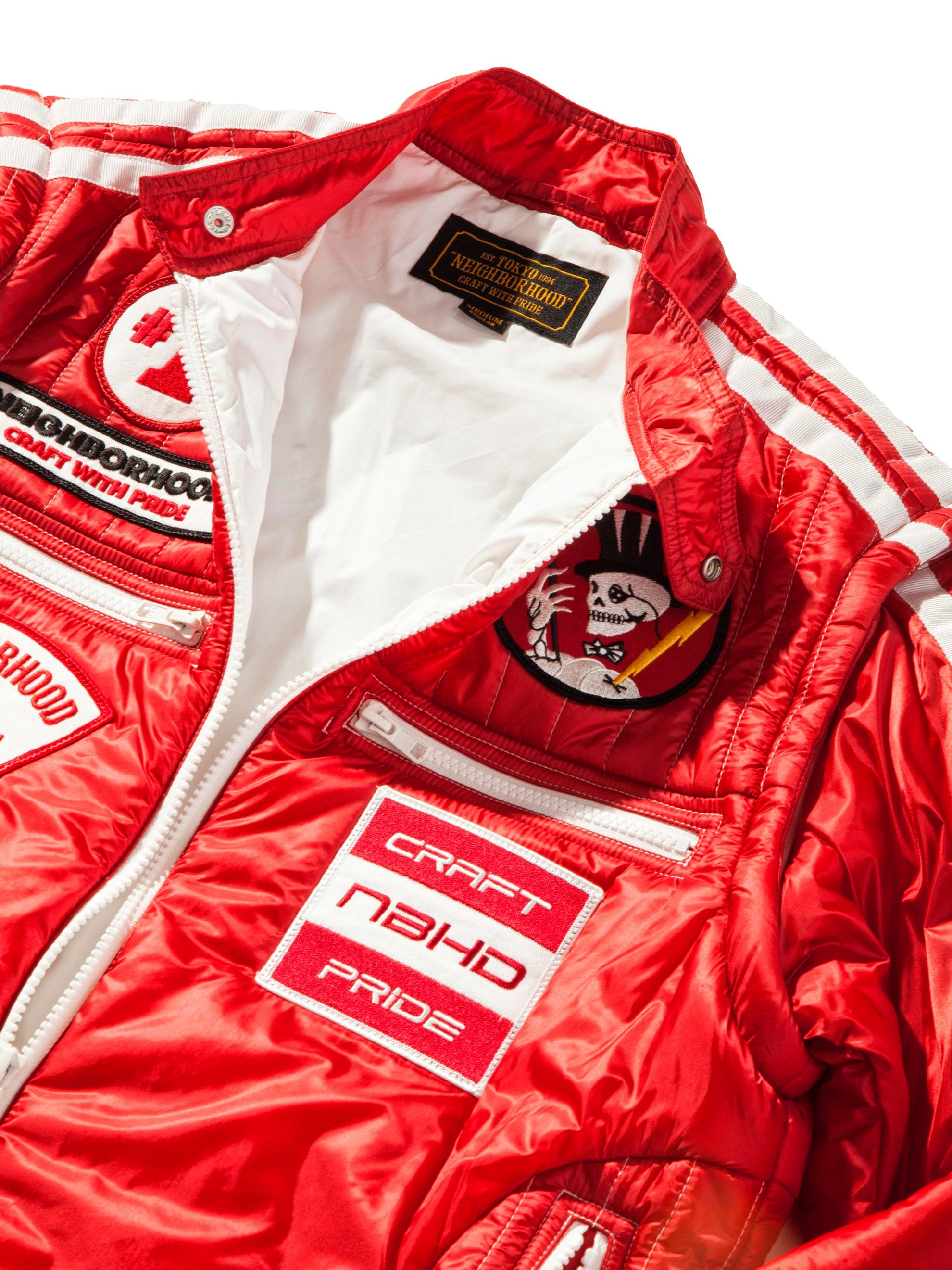 Red Racing Jacket 10