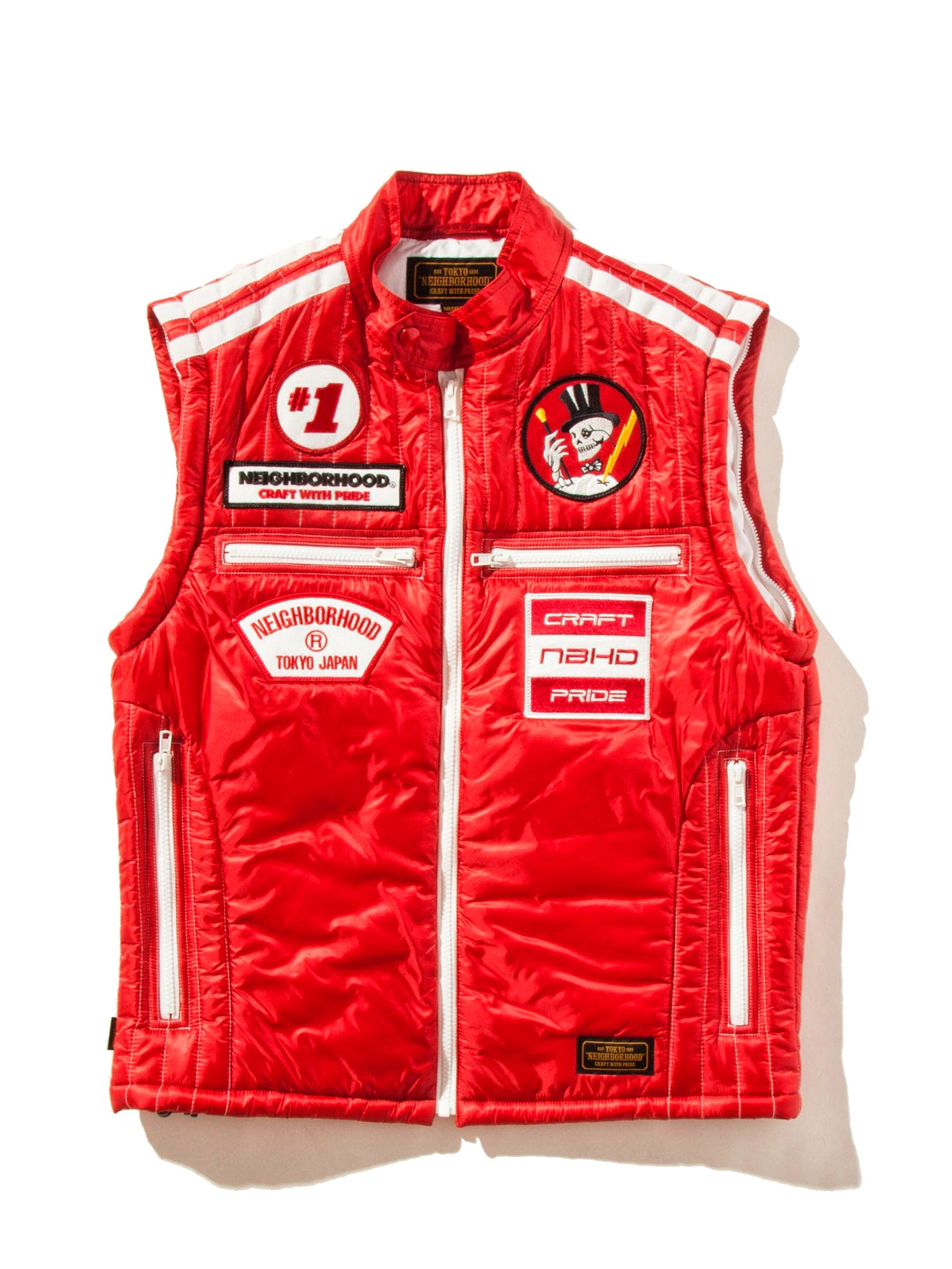 Red Racing Jacket 16