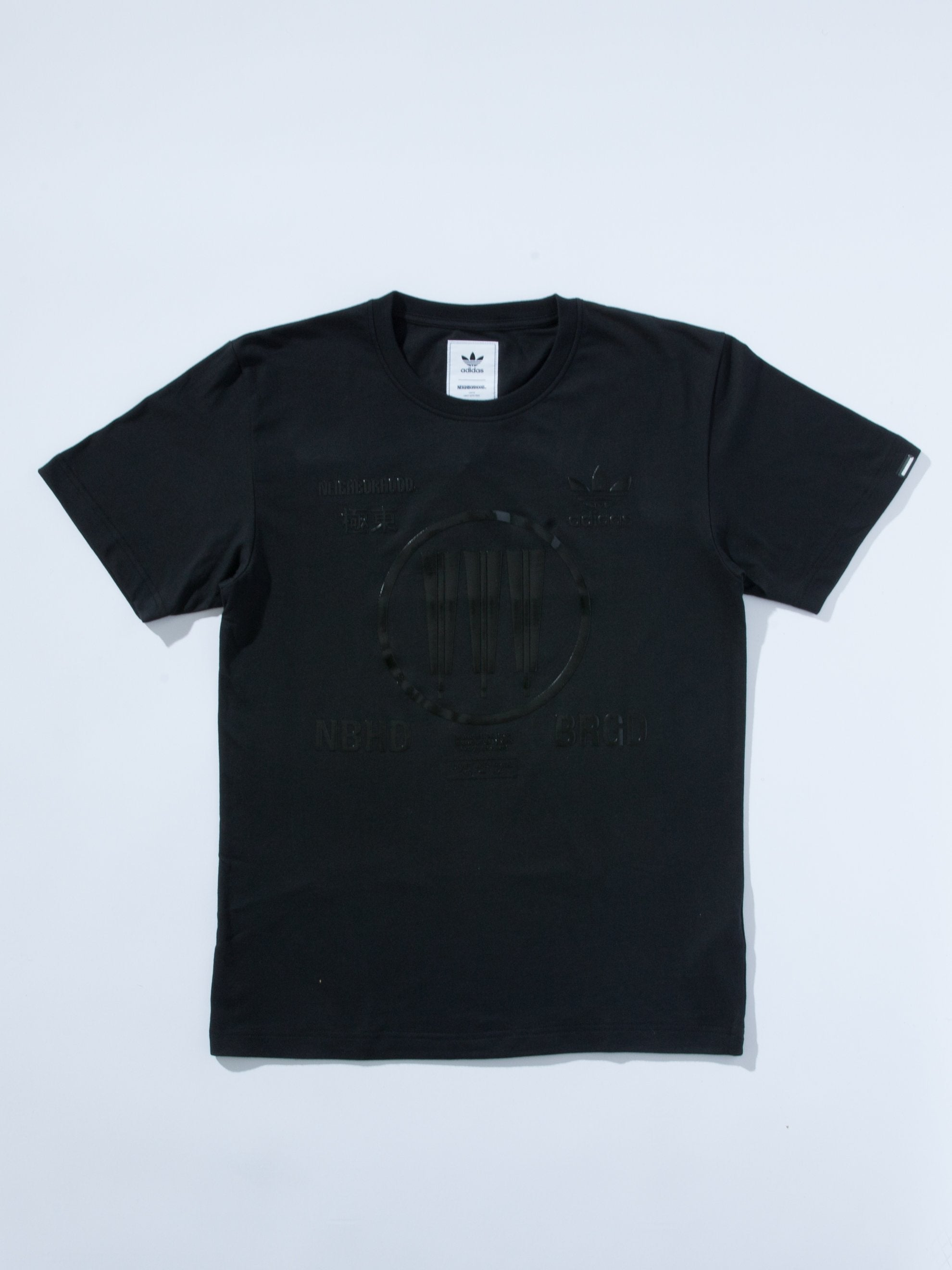 Black/Black NHBD Logo SSL T-Shirt (EXCLUSIVE) 1