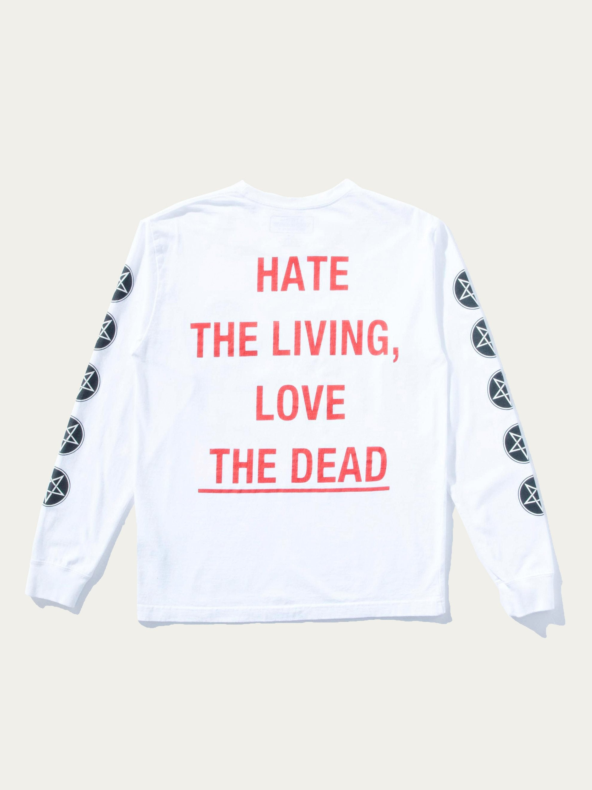 White Dead C-Tee Long Sleeve 1
