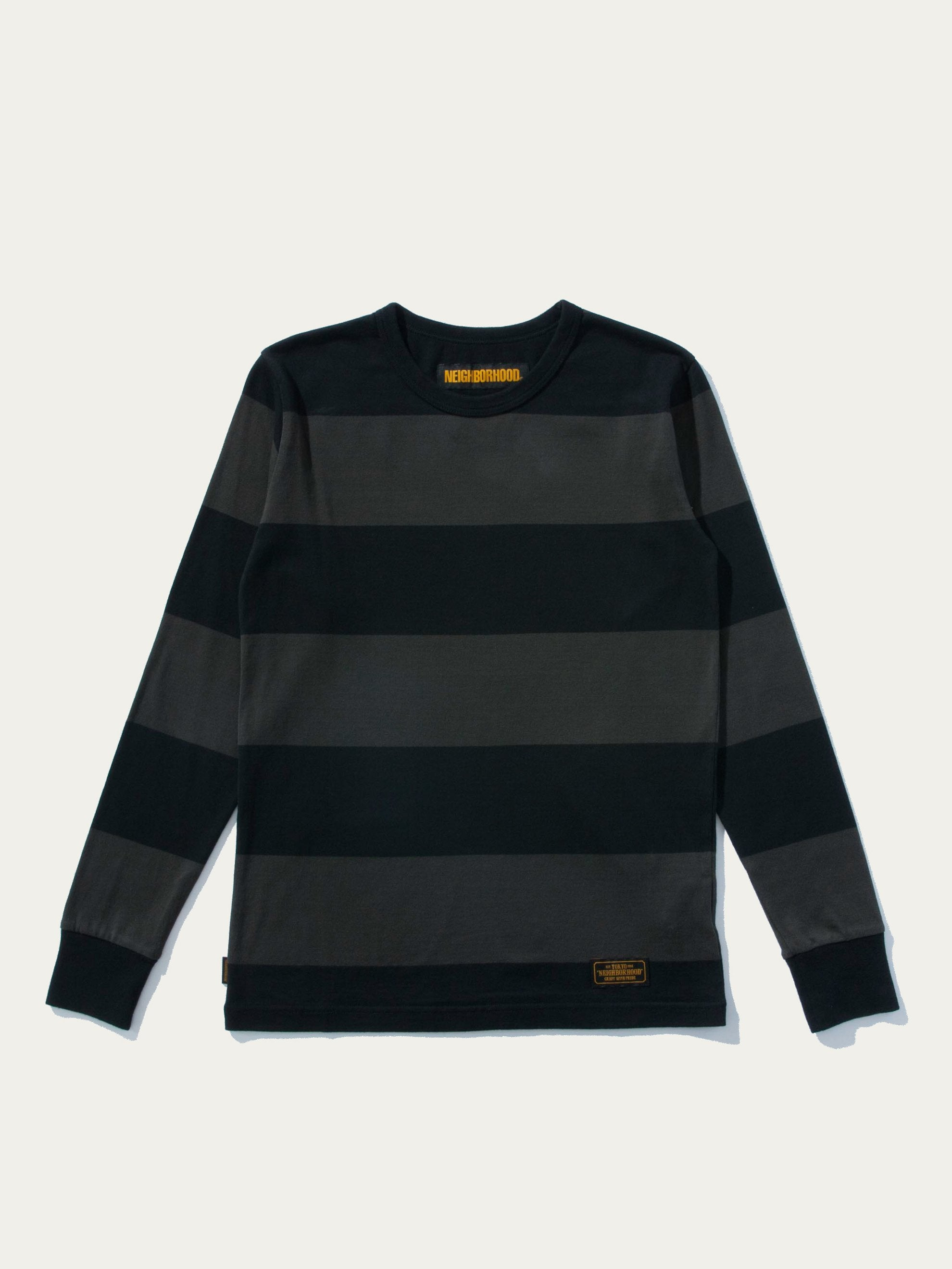 Black B.D. Striped L/S T-Shirt 1