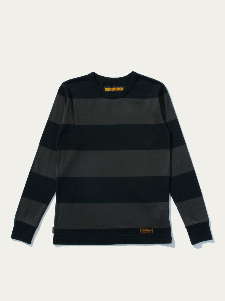 B.D. Striped L/S T-Shirt