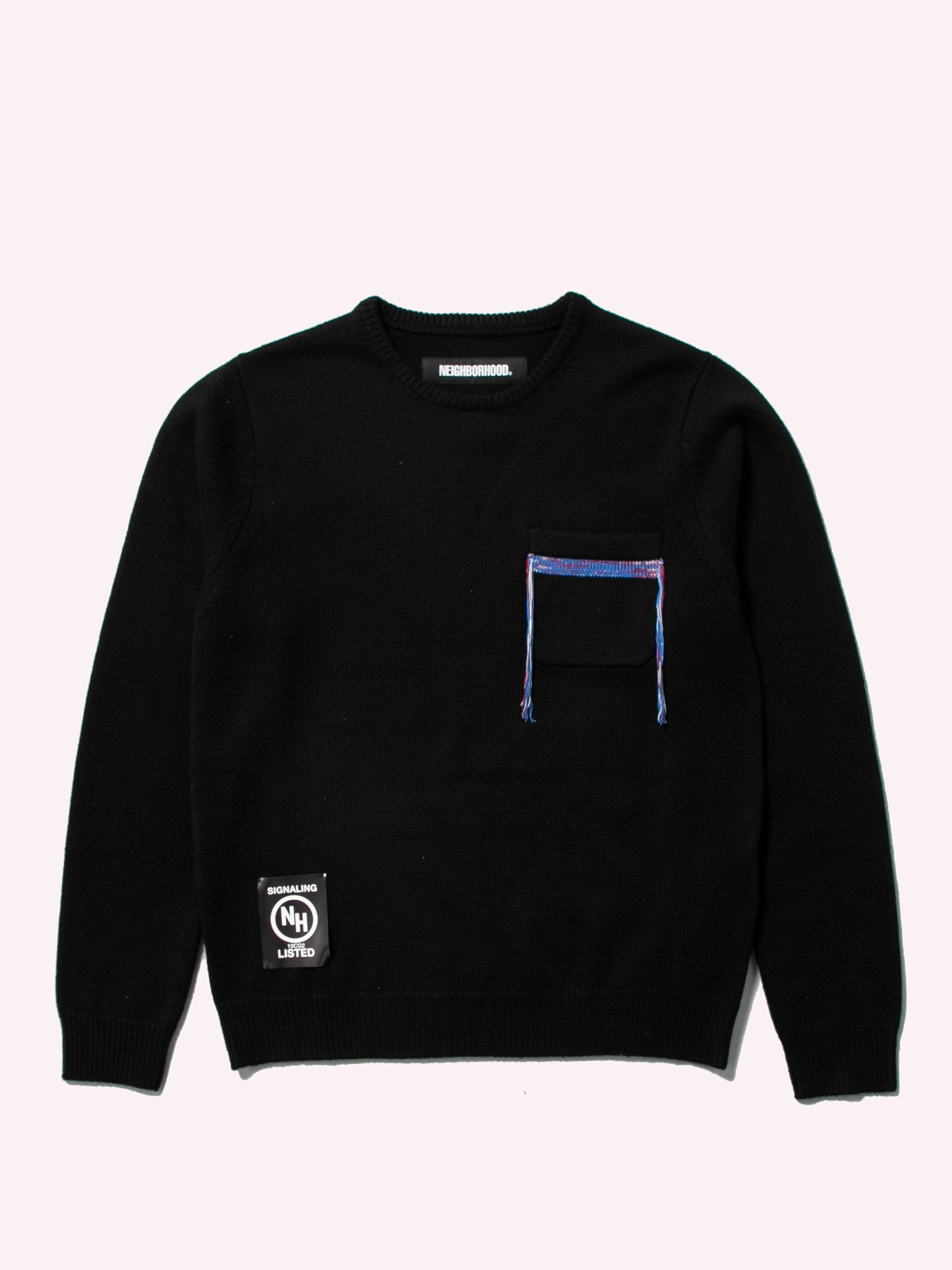 Black Design-2 / W-Knit .LS 1