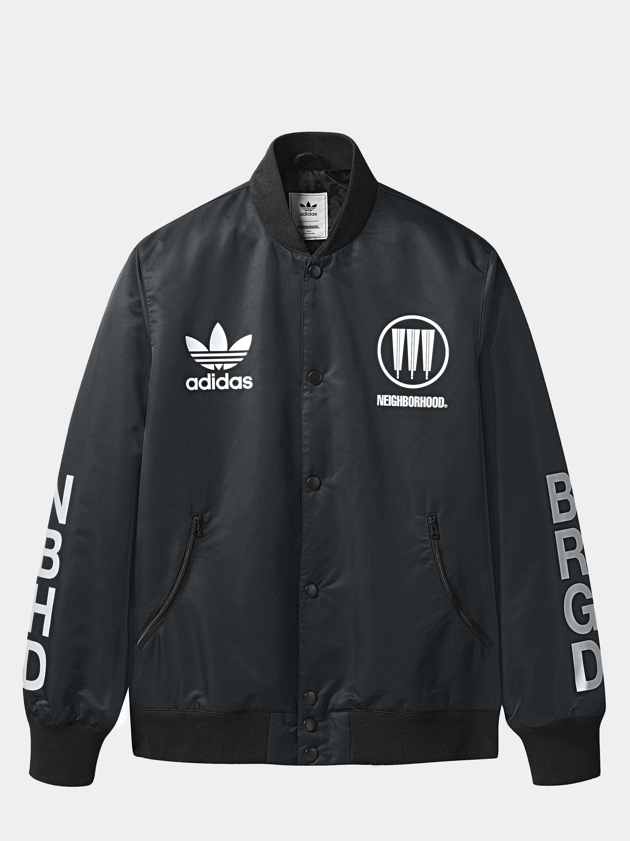 Black NBHD Stadium Jacket 1