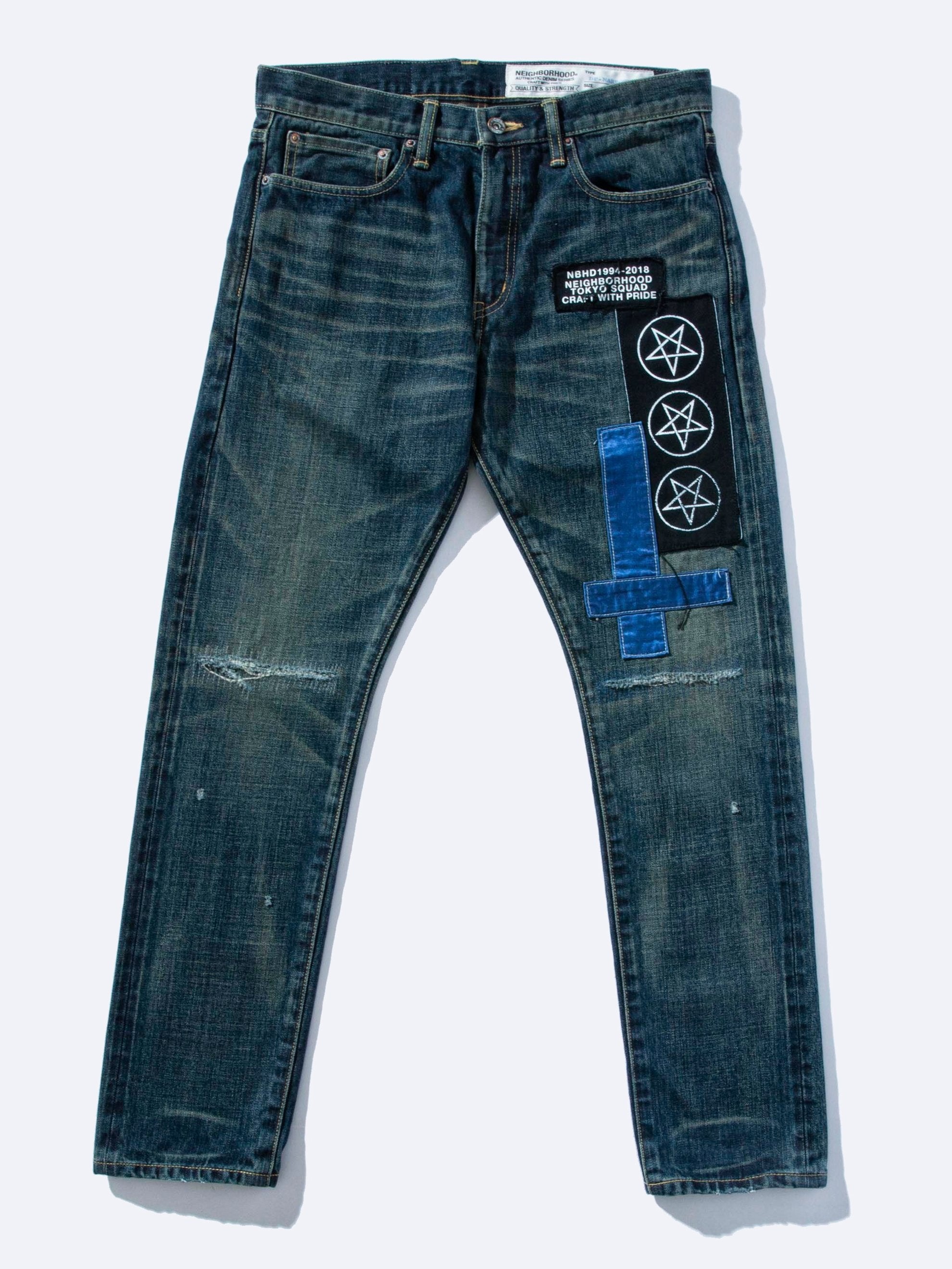 Indigo Metal Savage 2 Deep Narrow Jeans 1