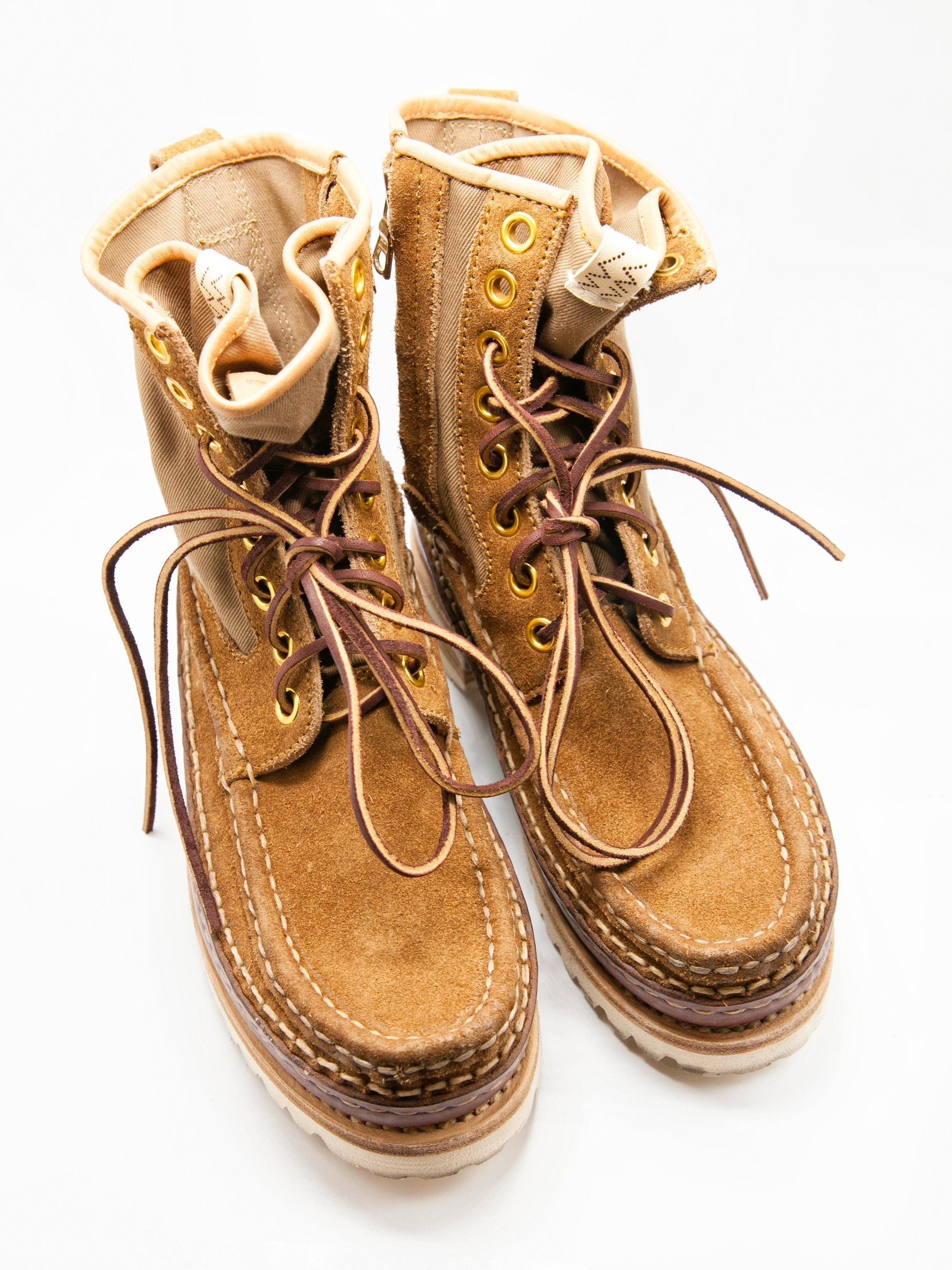 Camel Grizzly Hi-Folk Boots 2