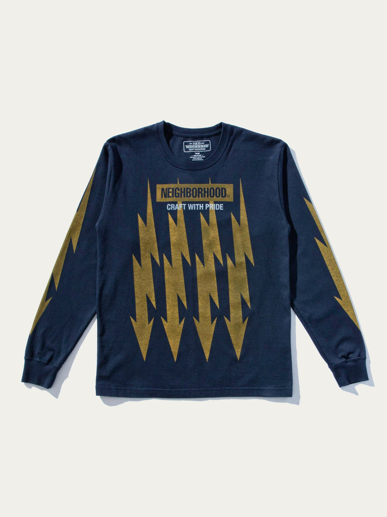 Bolts Cotton Pullover L/S T-Shirt