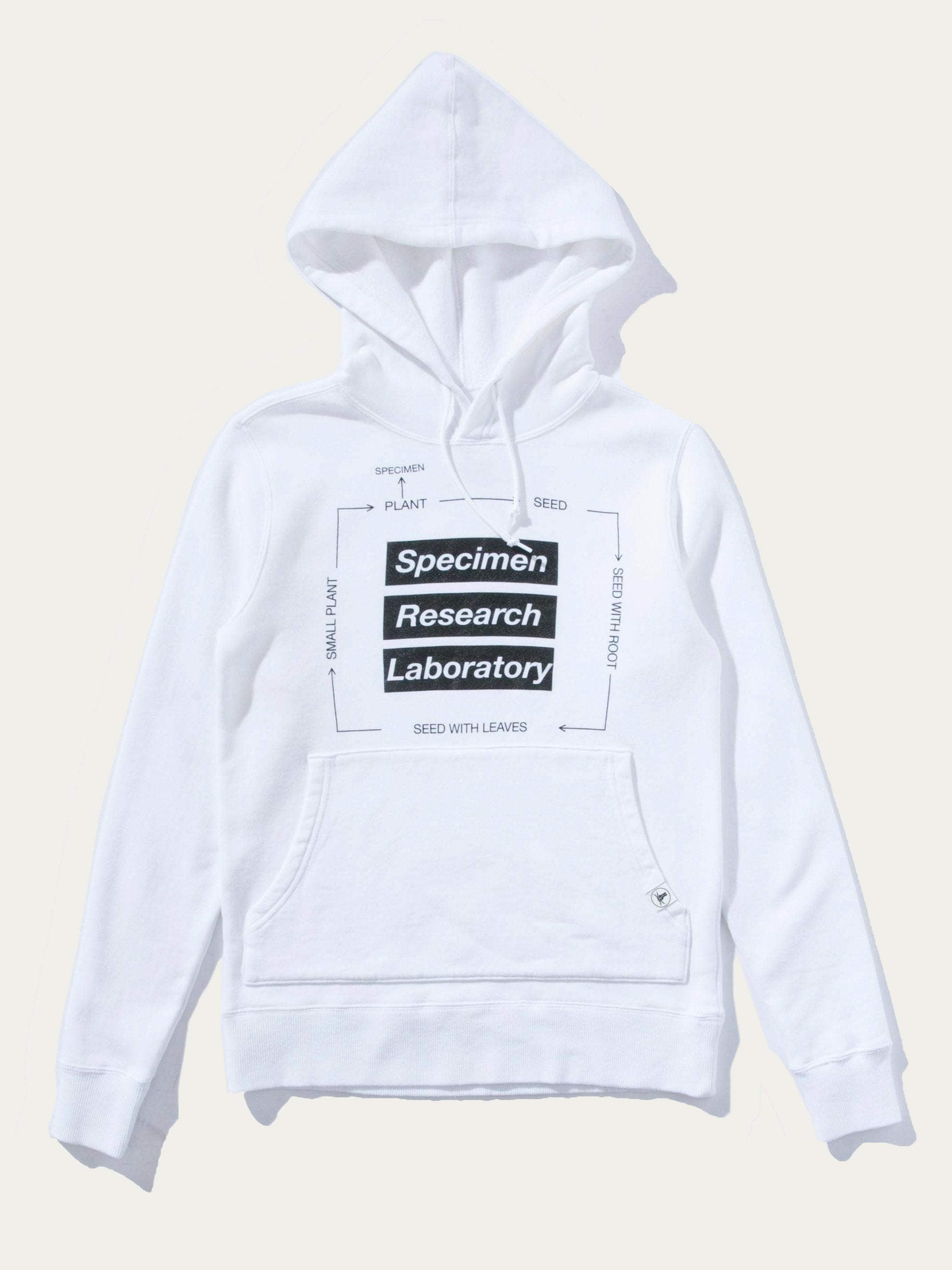 White SRL Roots Hooded L/S Shirt 1