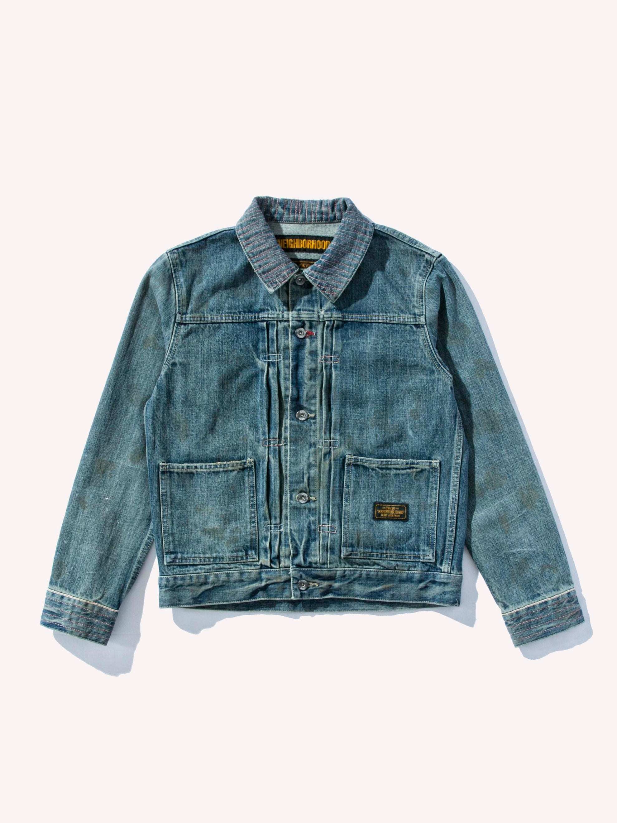 Indigo Savage Stockman Jacket 1