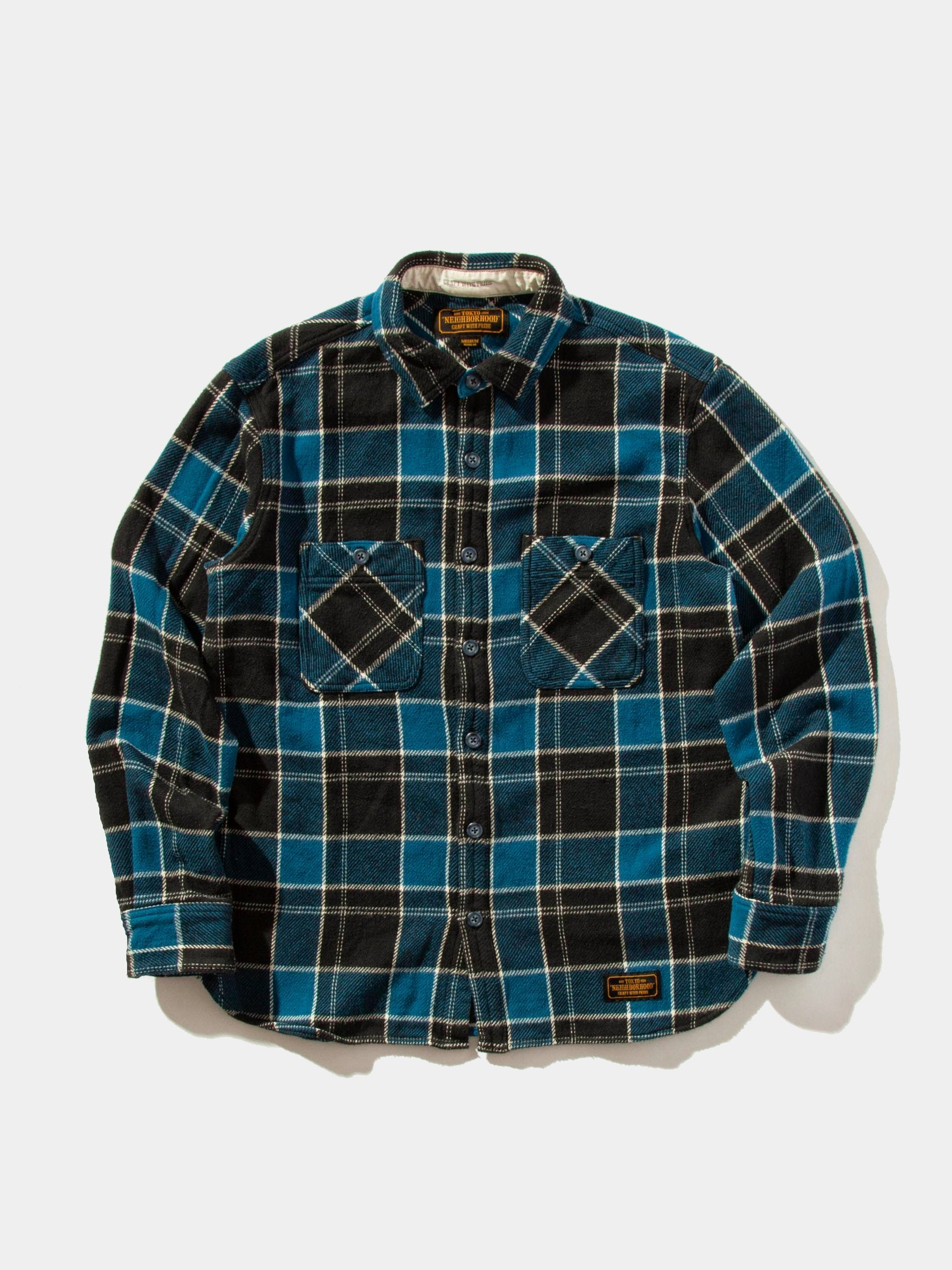 Blue Lumber Shirt 1