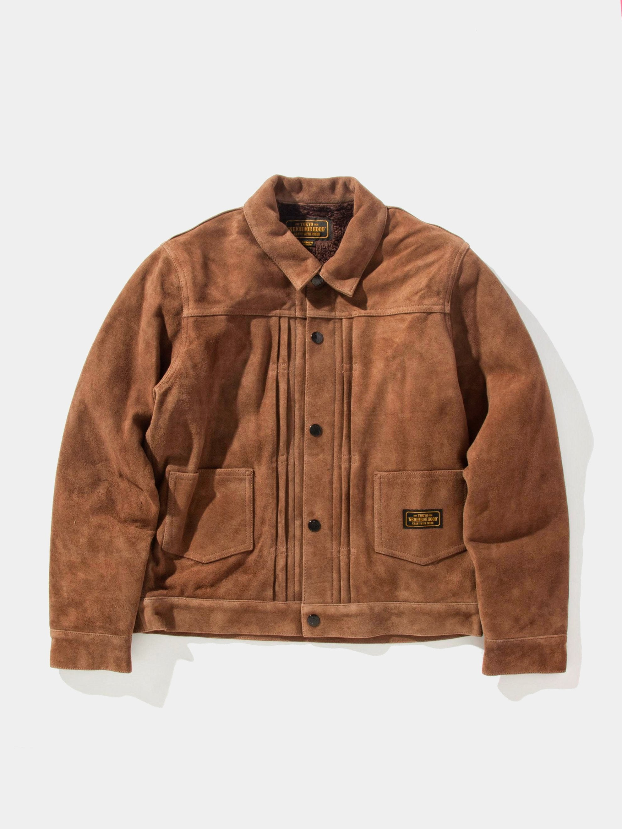 Brown Stockman (Suede) 1