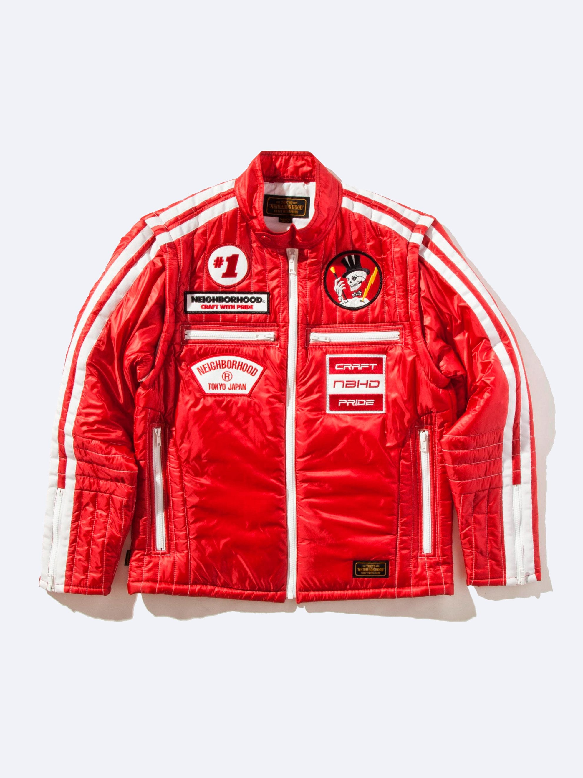 Red Racing Jacket 1