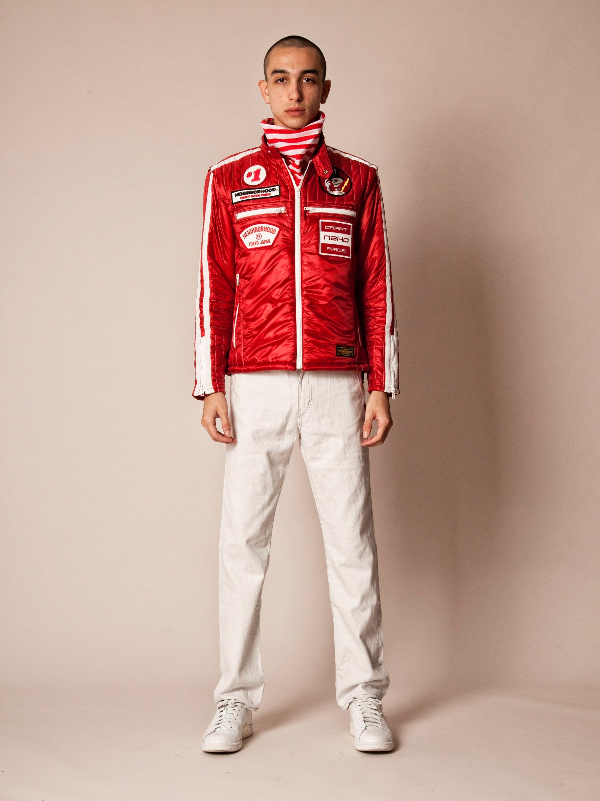 Red Racing Jacket 2