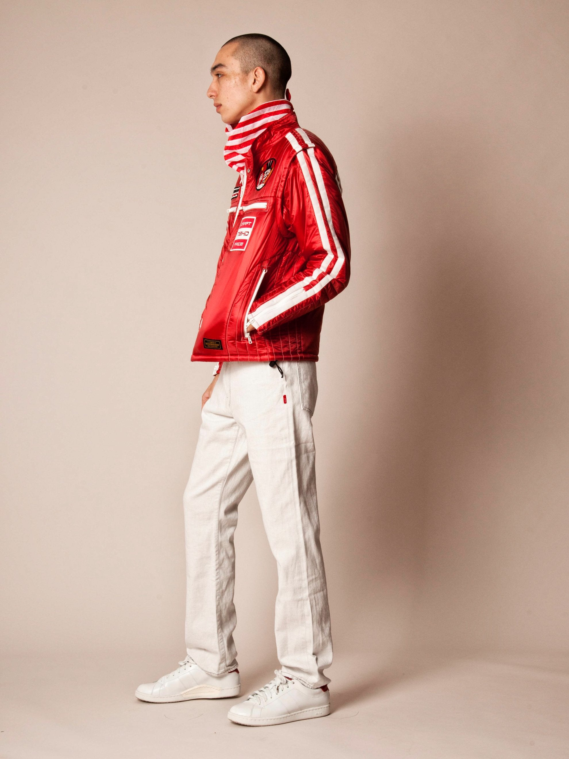 Red Racing Jacket 4