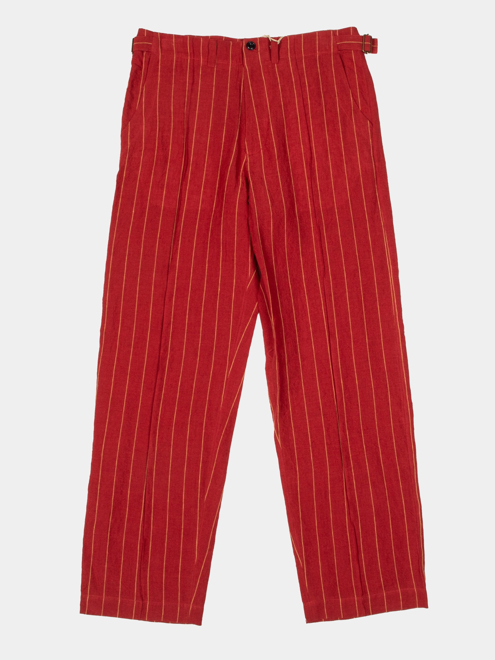 Red 70's Trouser 1