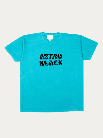Astro Black Garment Dyed T-Shirt