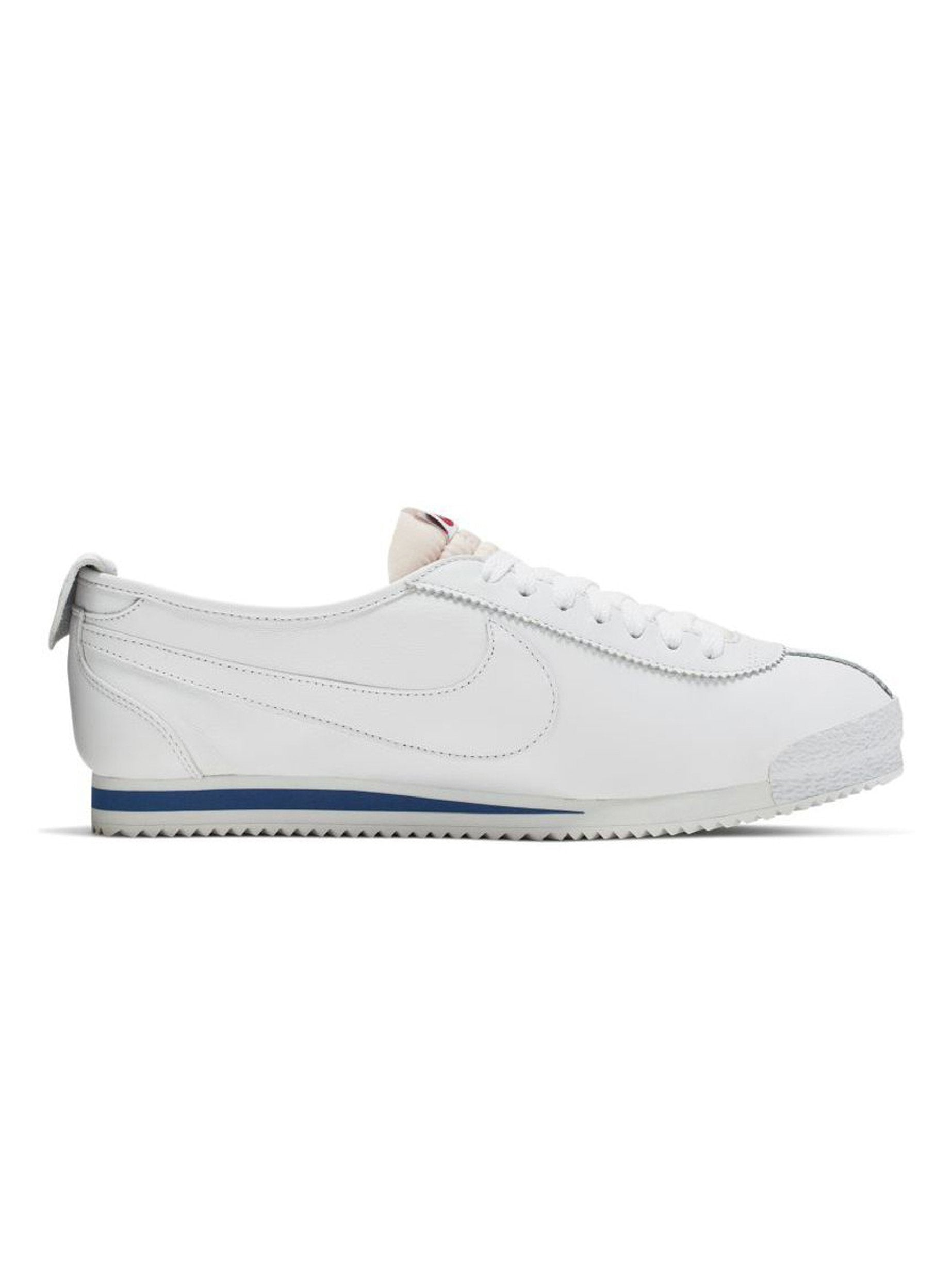 White / Varsity Red/ Game Royal Nike Cortez '72 Shoedog Q (Swoosh) 3