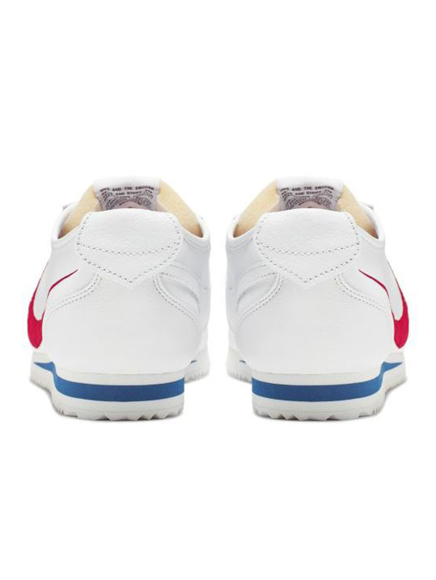 White / Varsity Red/ Game Royal Nike Cortez '72 Shoedog Q (Swoosh) 4