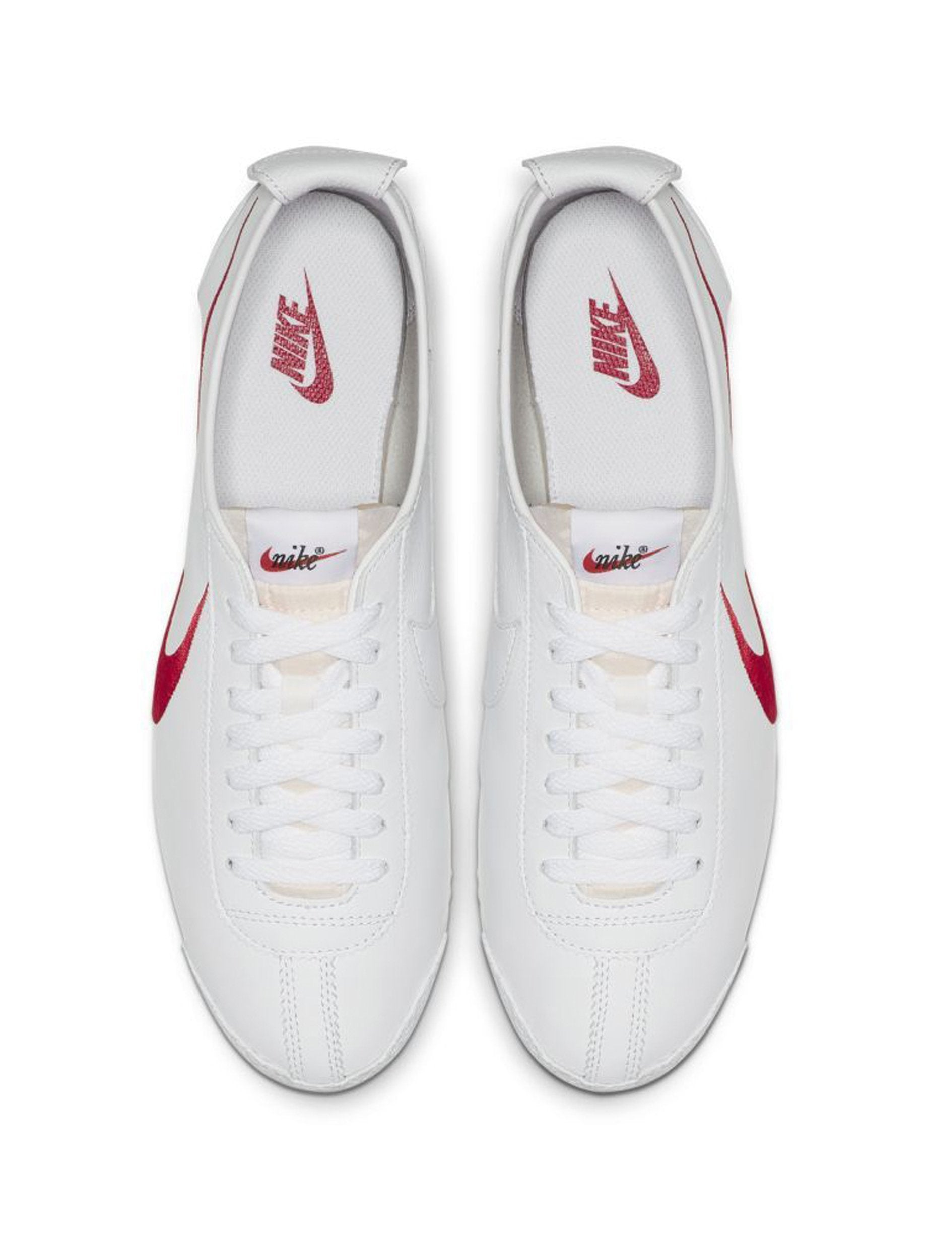 White / Varsity Red/ Game Royal Nike Cortez '72 Shoedog Q (Swoosh) 5